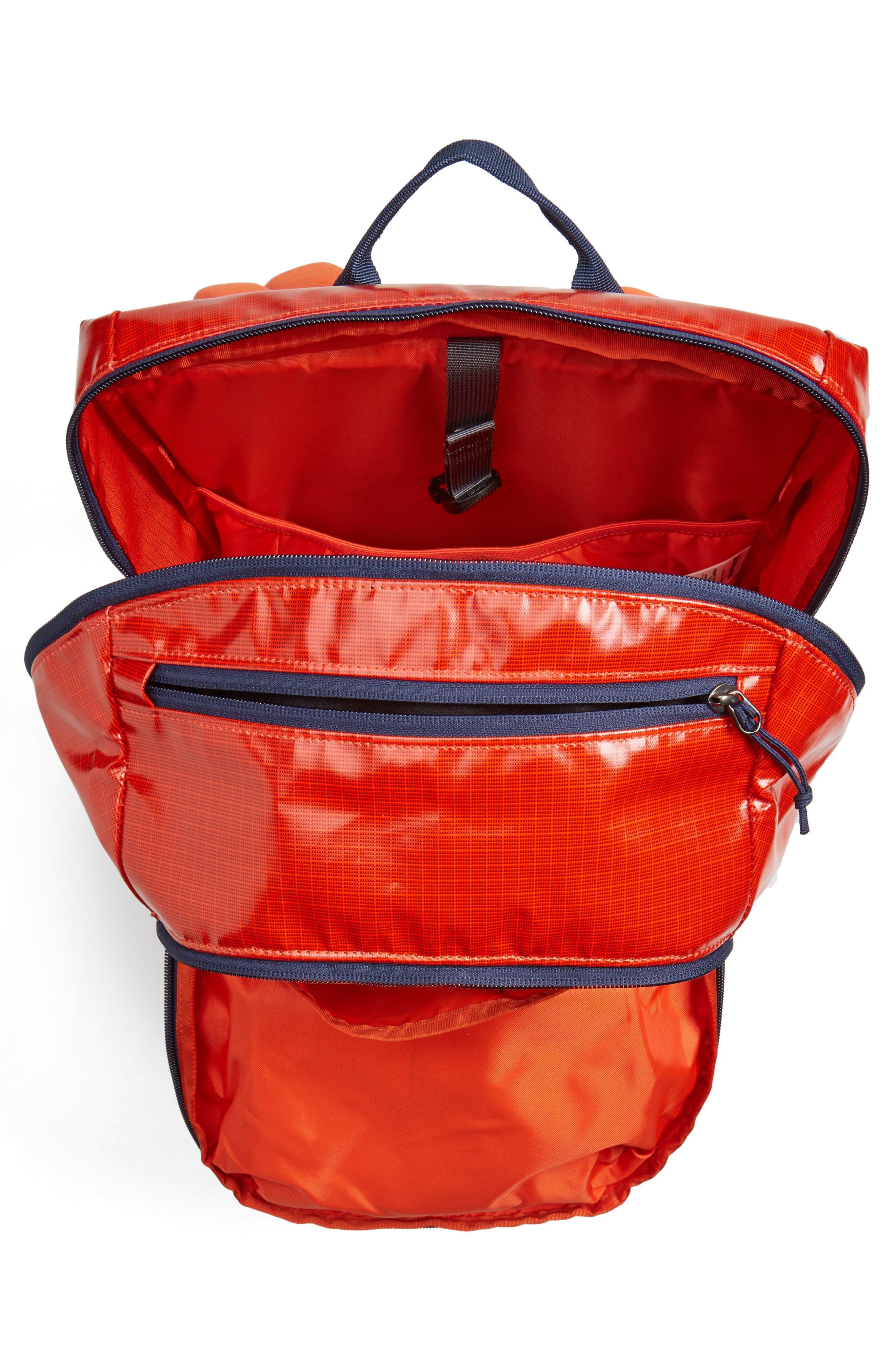 Black Hole 30-Liter Backpack,                             Alternate thumbnail 4, color,                             Paintbrush Red