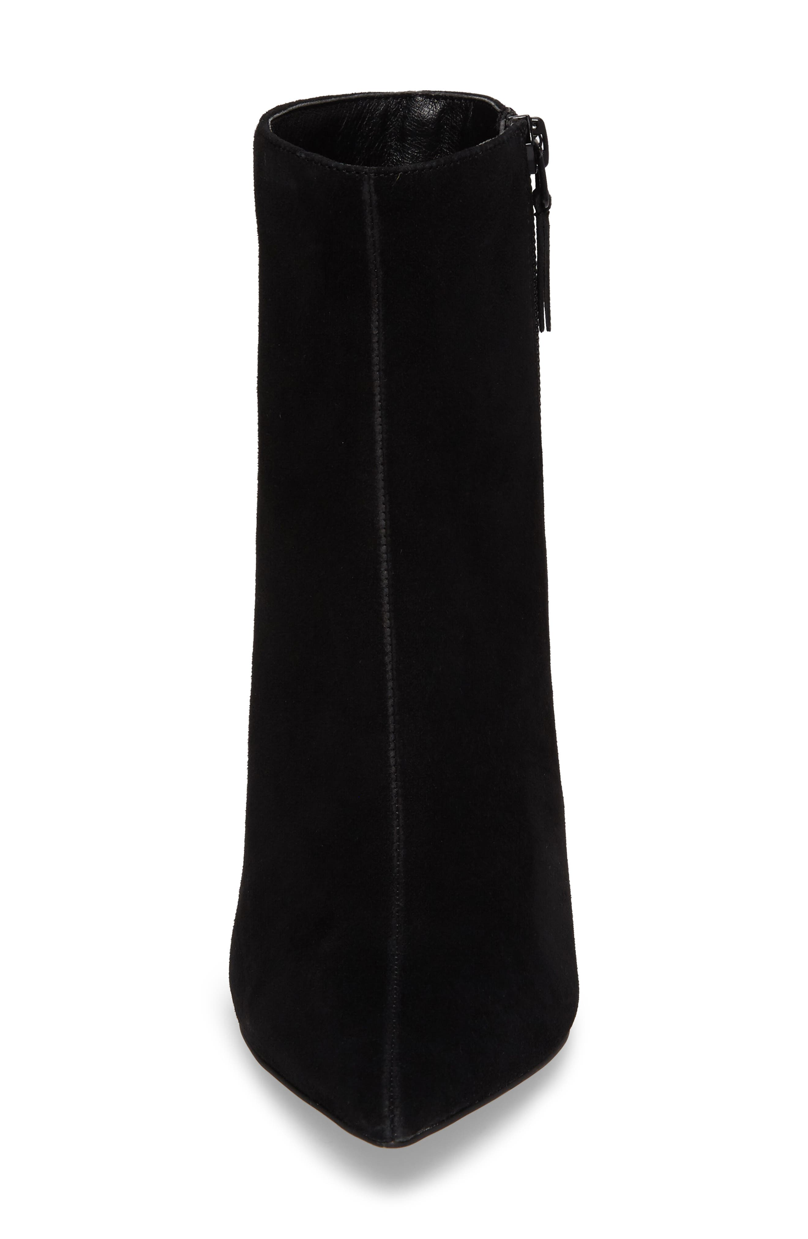 Hot Toddy Pointy Toe Boot,                             Alternate thumbnail 4, color,                             Black