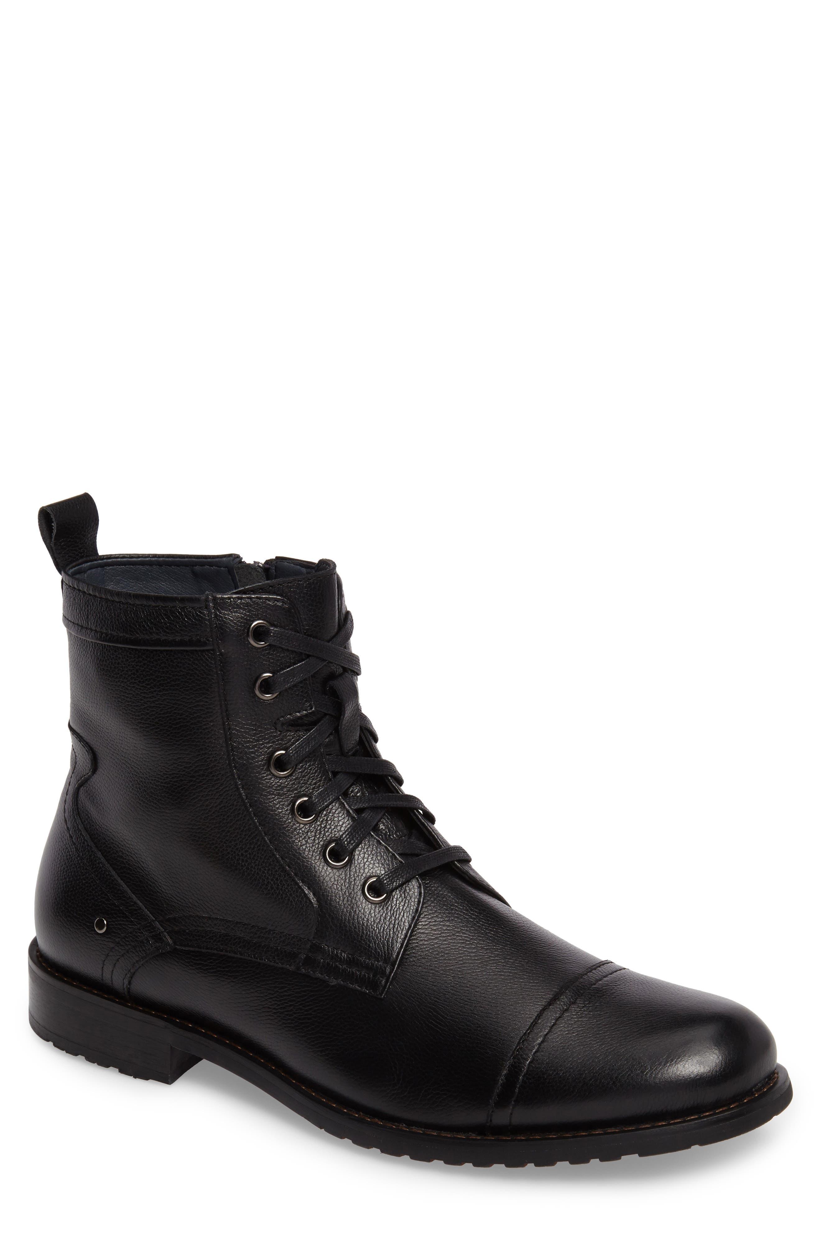 English Laundry Cap Toe Boot (Men)