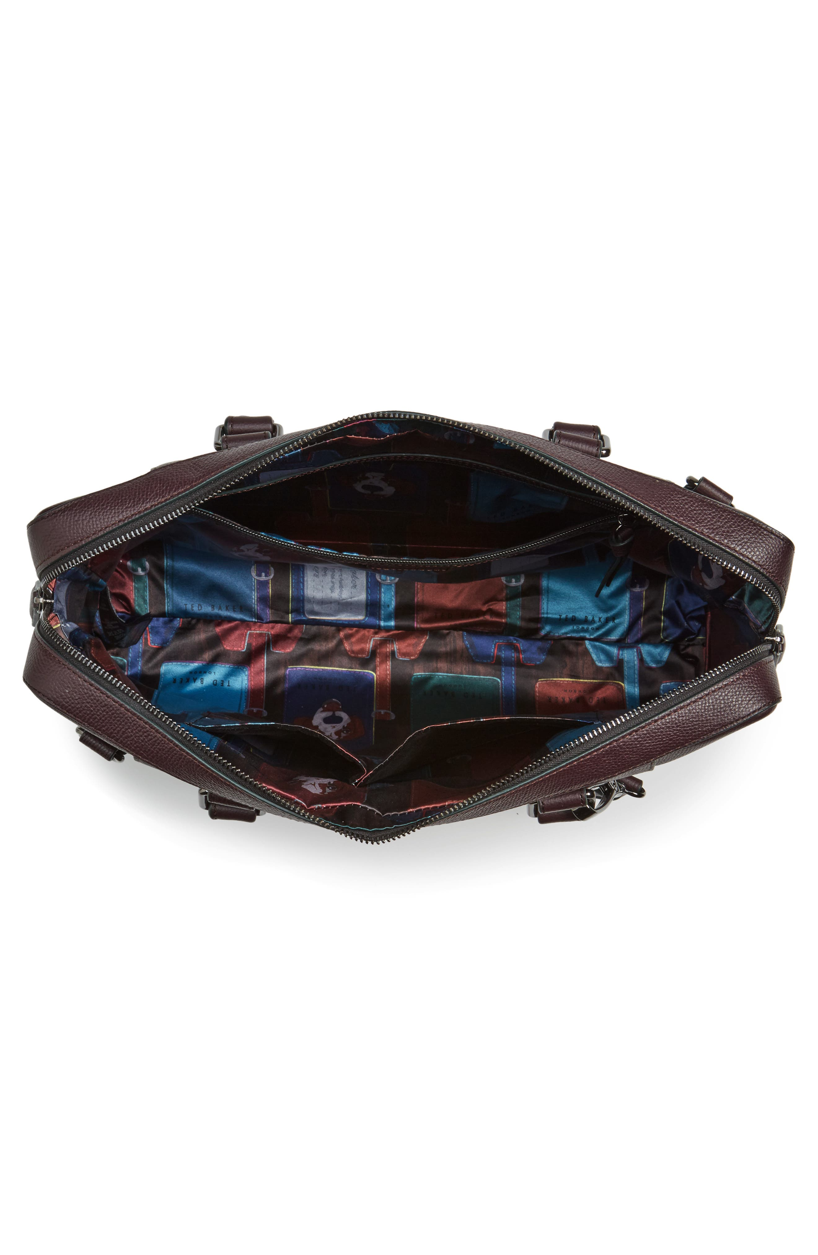 Alternate Image 4  - Ted Baker London Jager Leather Briefcase