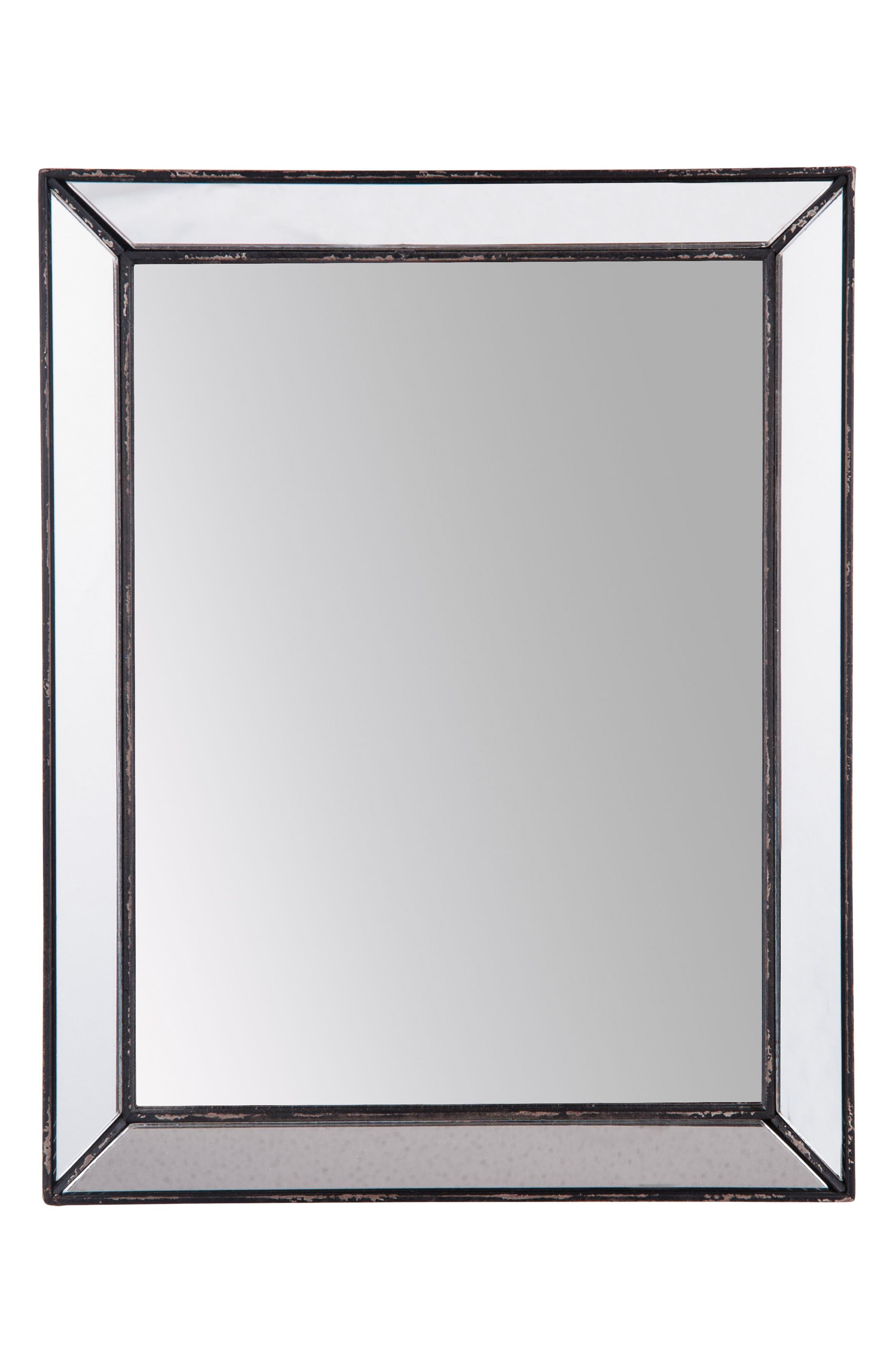 Rectangle Mirror,                         Main,                         color, Glass/ Metal
