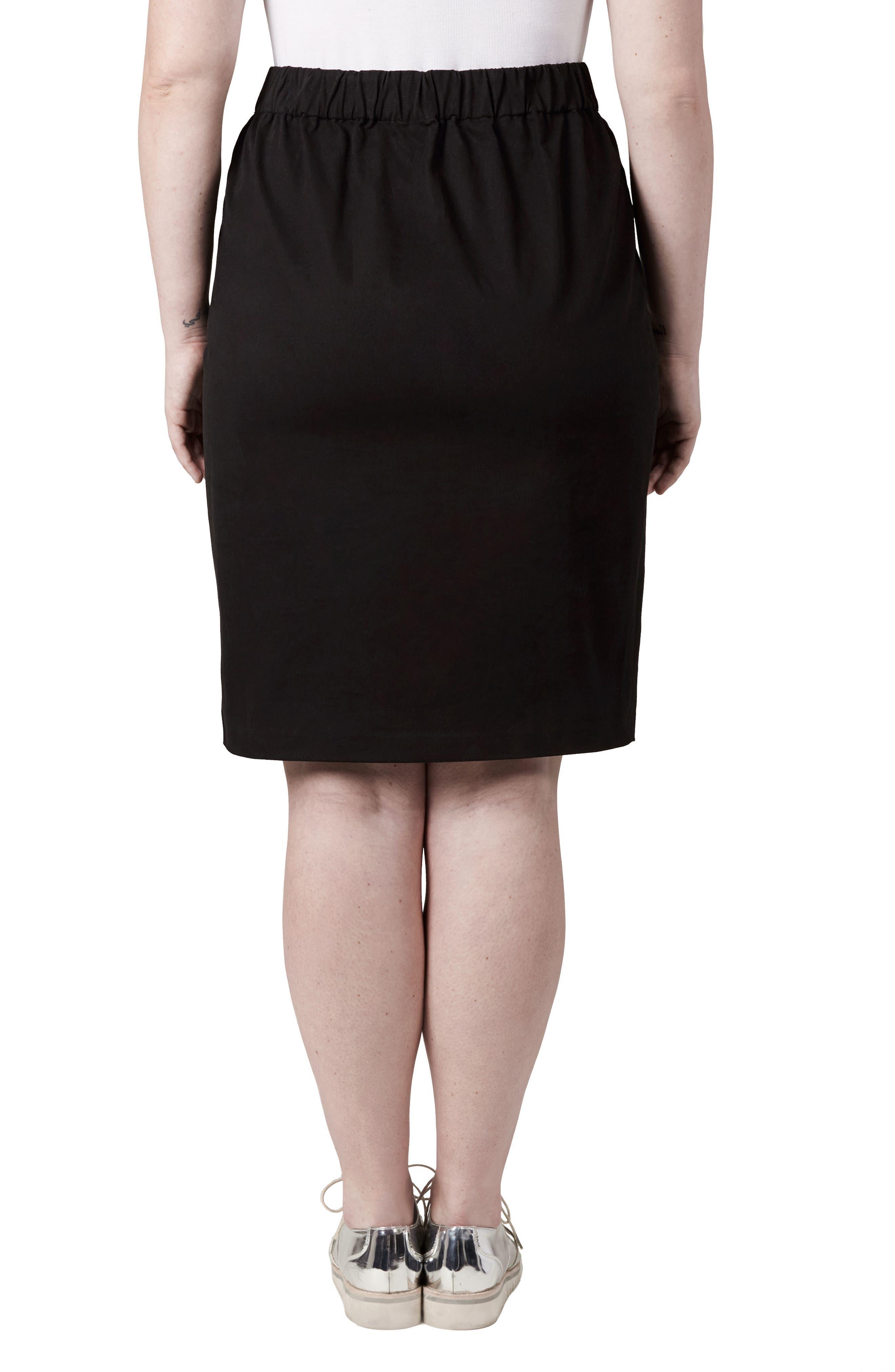 Alternate Image 2  - UNIVERSAL STANDARD Unity Cutout Skirt (Plus Size)