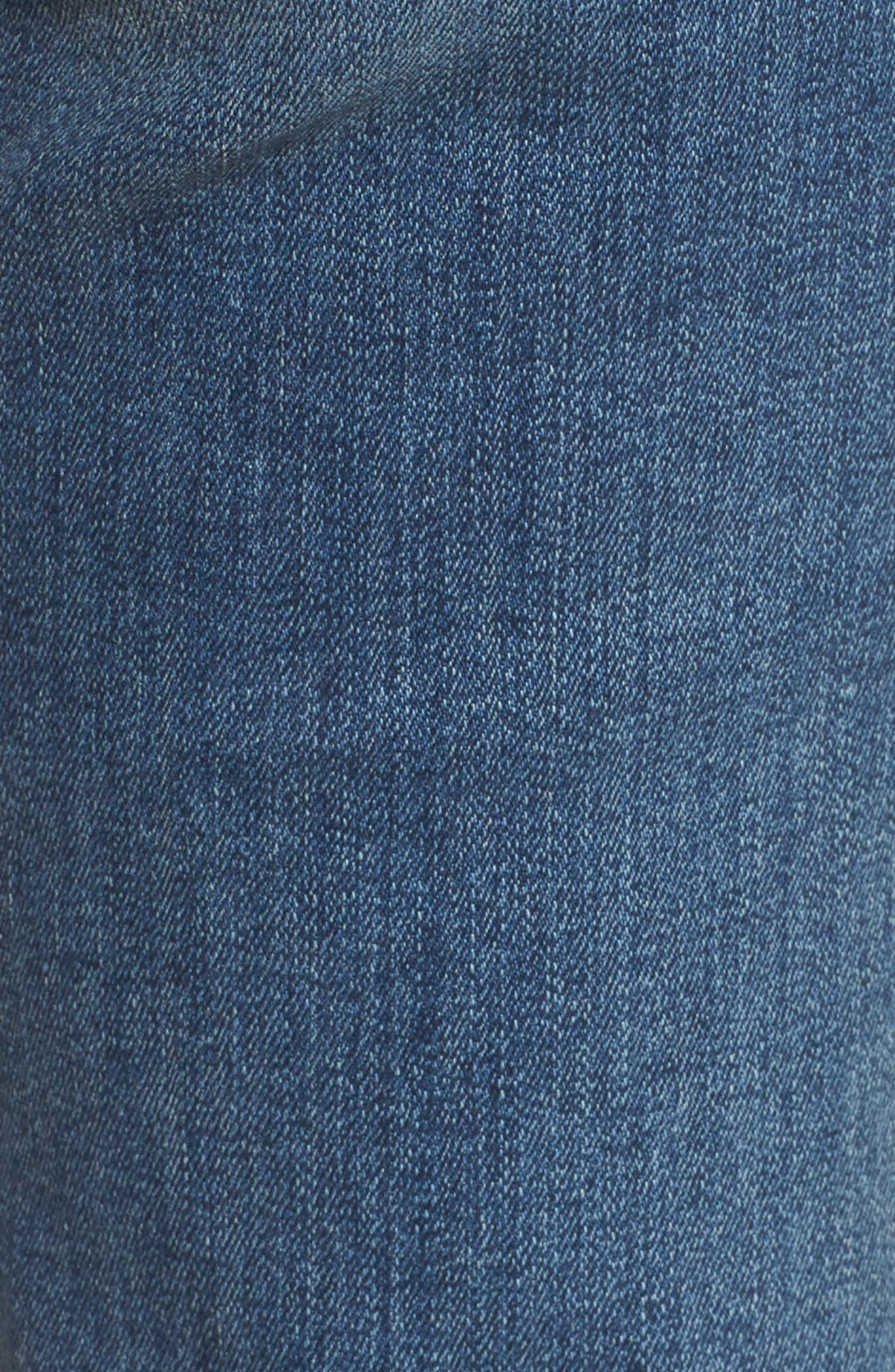 Alternate Image 5  - 7 For All Mankind® 'Dojo' Wide Leg Jeans