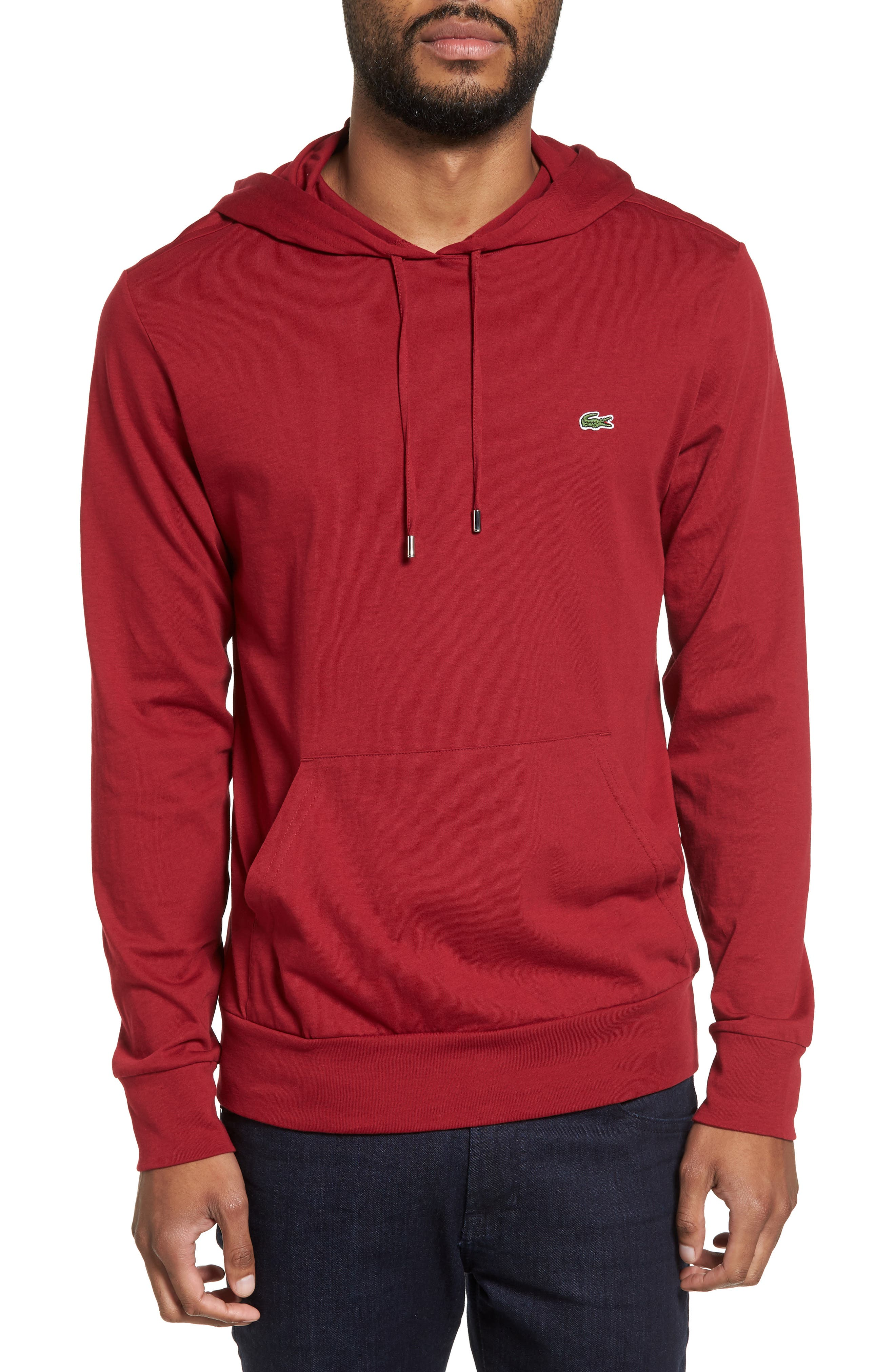 Alternate Image 1 Selected - Lacoste Pullover Hoodie