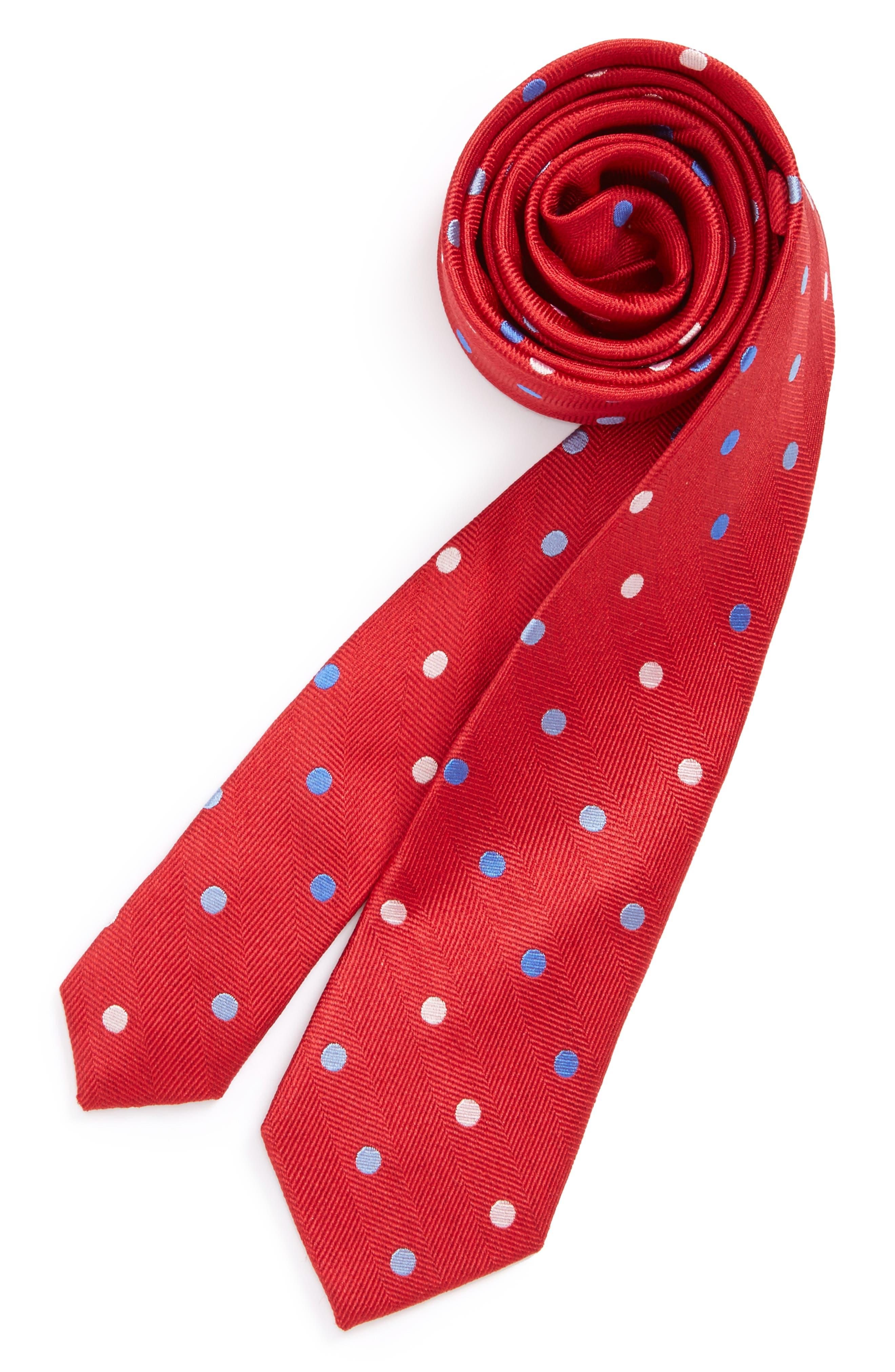 Michael Kors Dot Silk Tie (Big Boys)