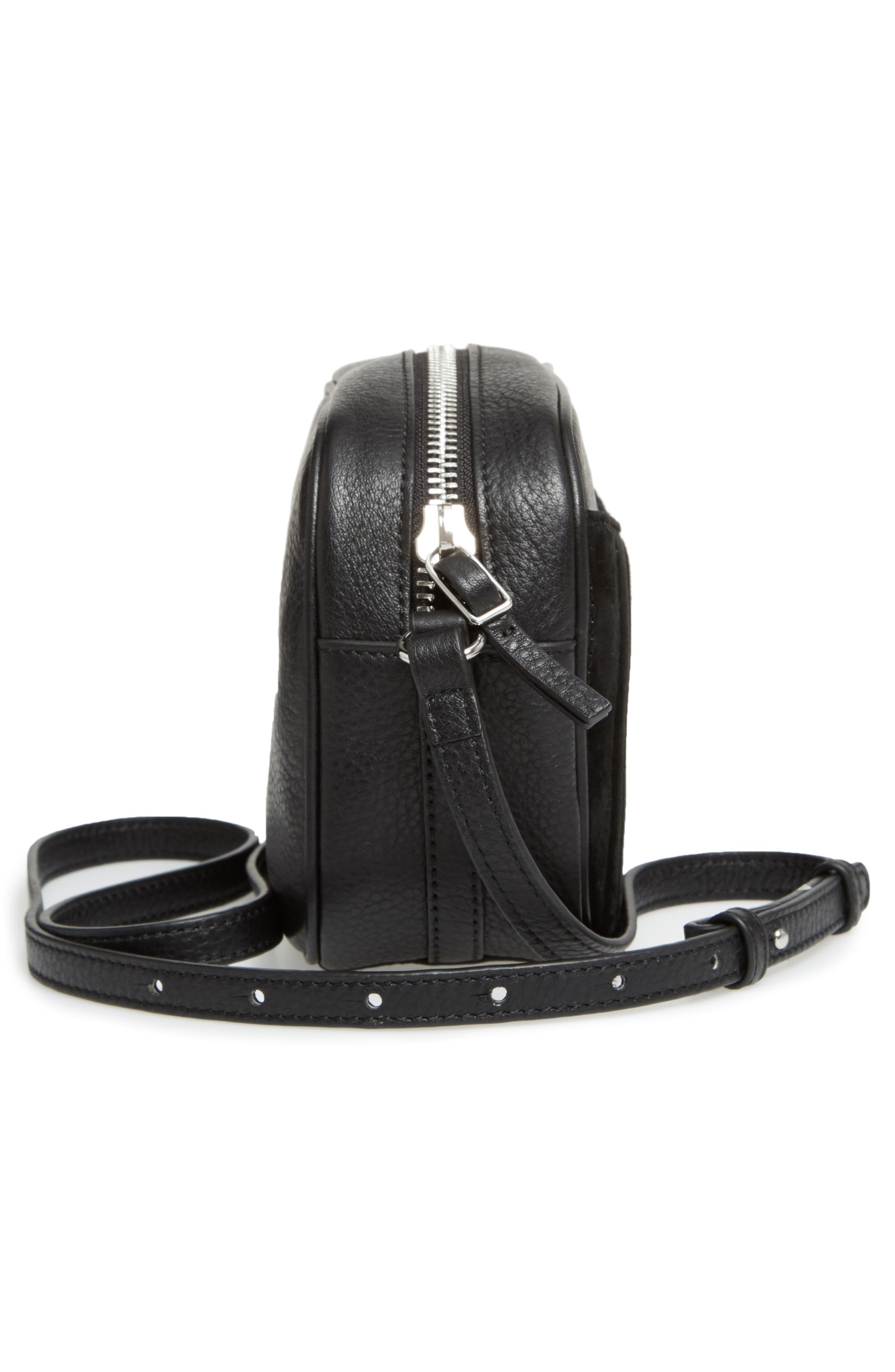 Alternate Image 5  - Steven Alan Ayla Leather & Quilted Suede Camera Bag