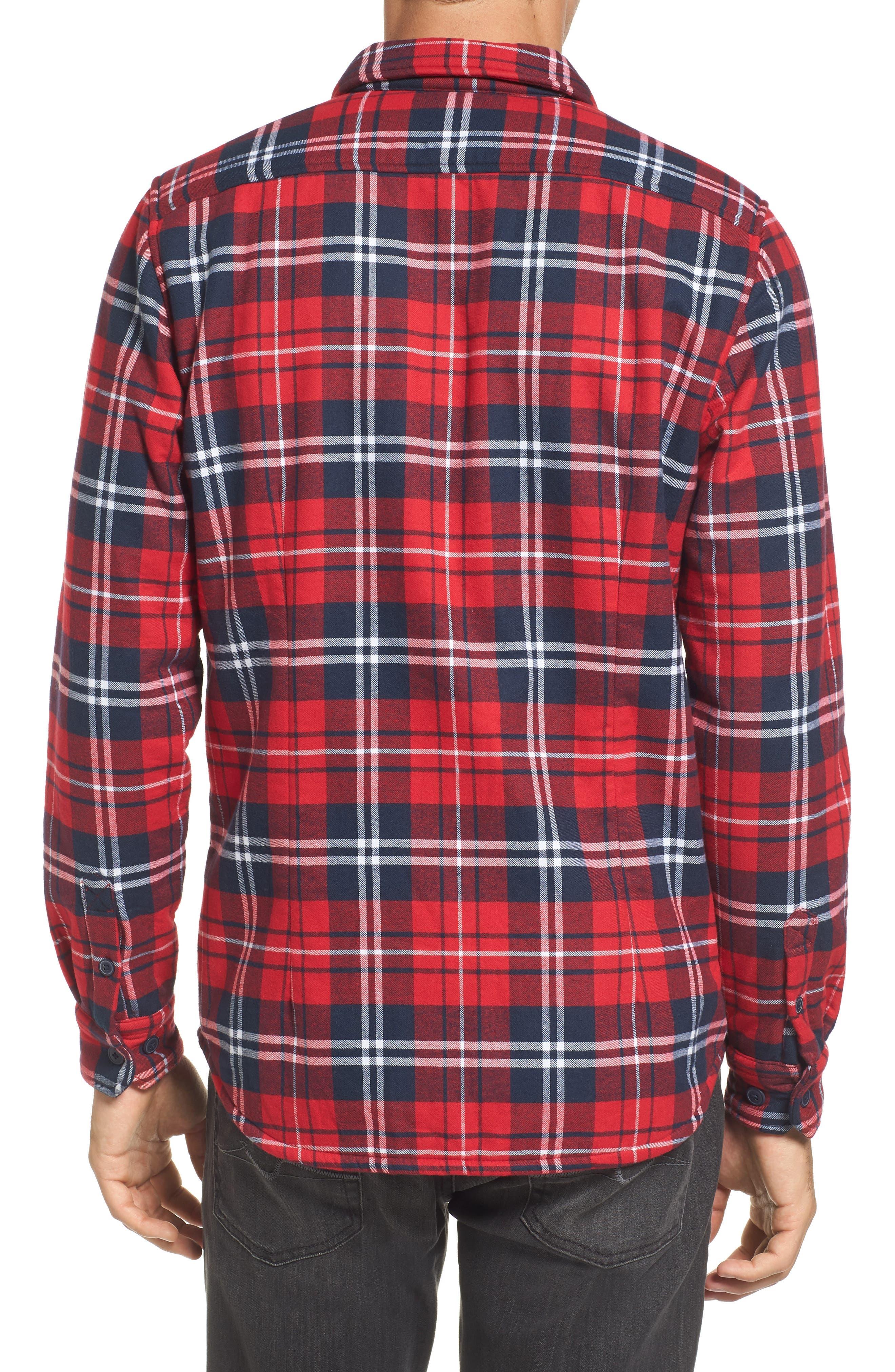 Alternate Image 2  - Barbour Hamilton Regular Fit Faux Fur Lined Shirt Jacket