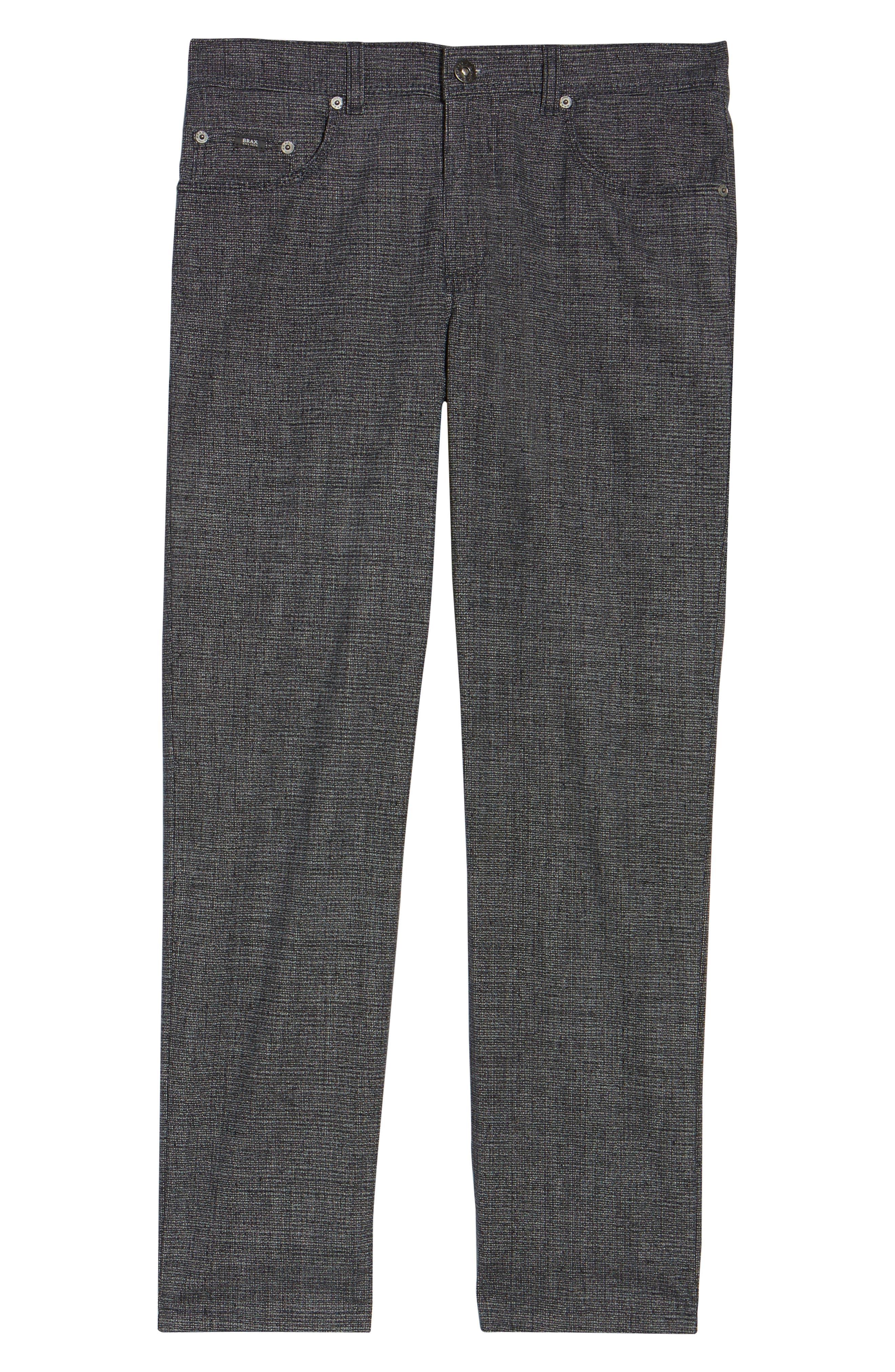 Alternate Image 6  - Brax Cotton Blend Five-Pocket Trousers