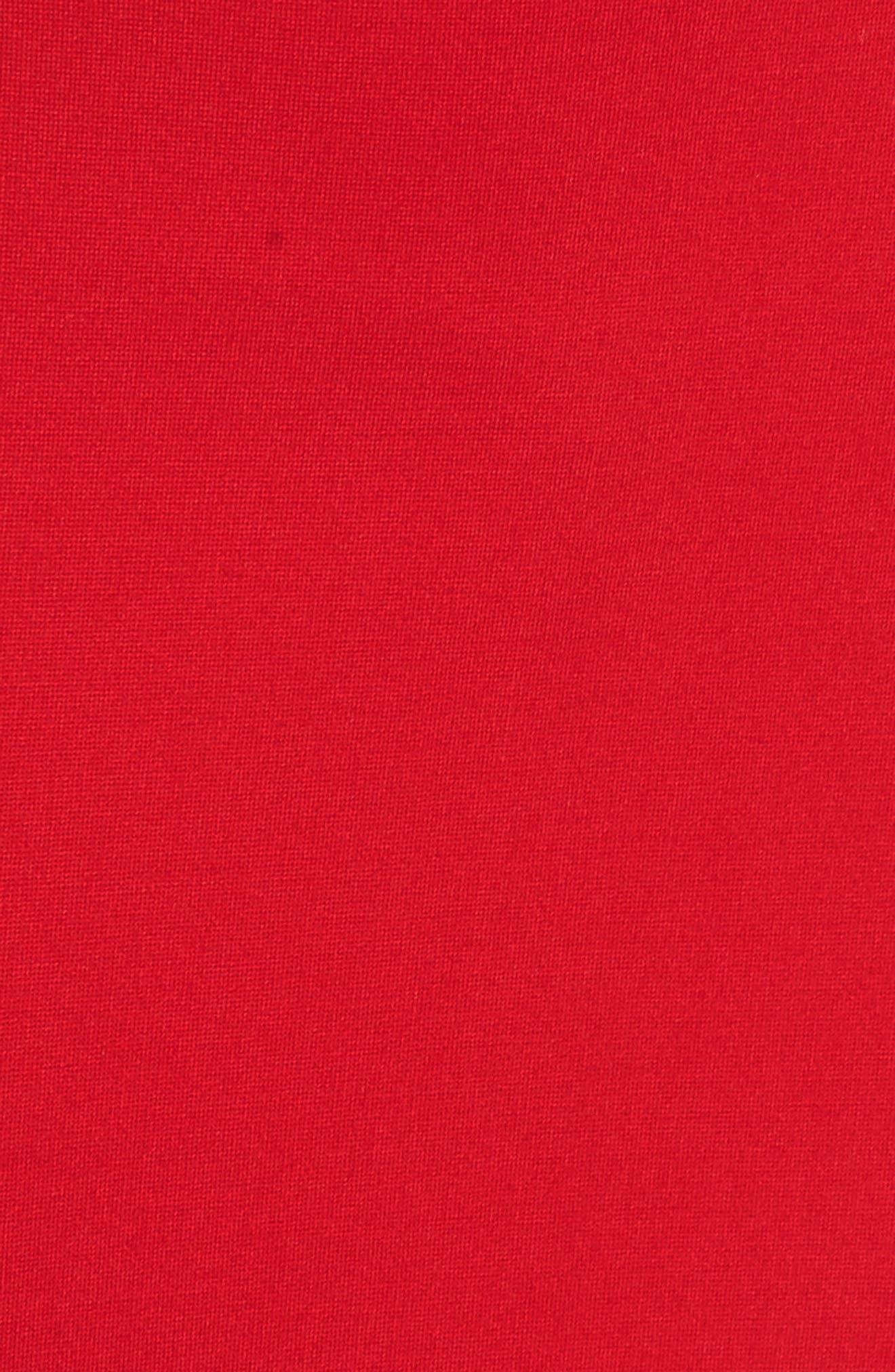 Alternate Image 5  - Felicity & Coco Monrow Flutter Hem Midi Dress (Nordstrom Exclusive)