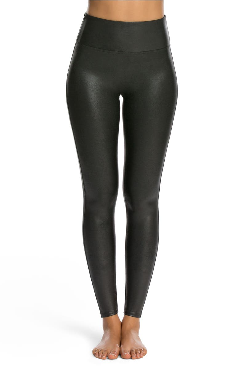 Spanx 174 Faux Leather Leggings Nordstrom