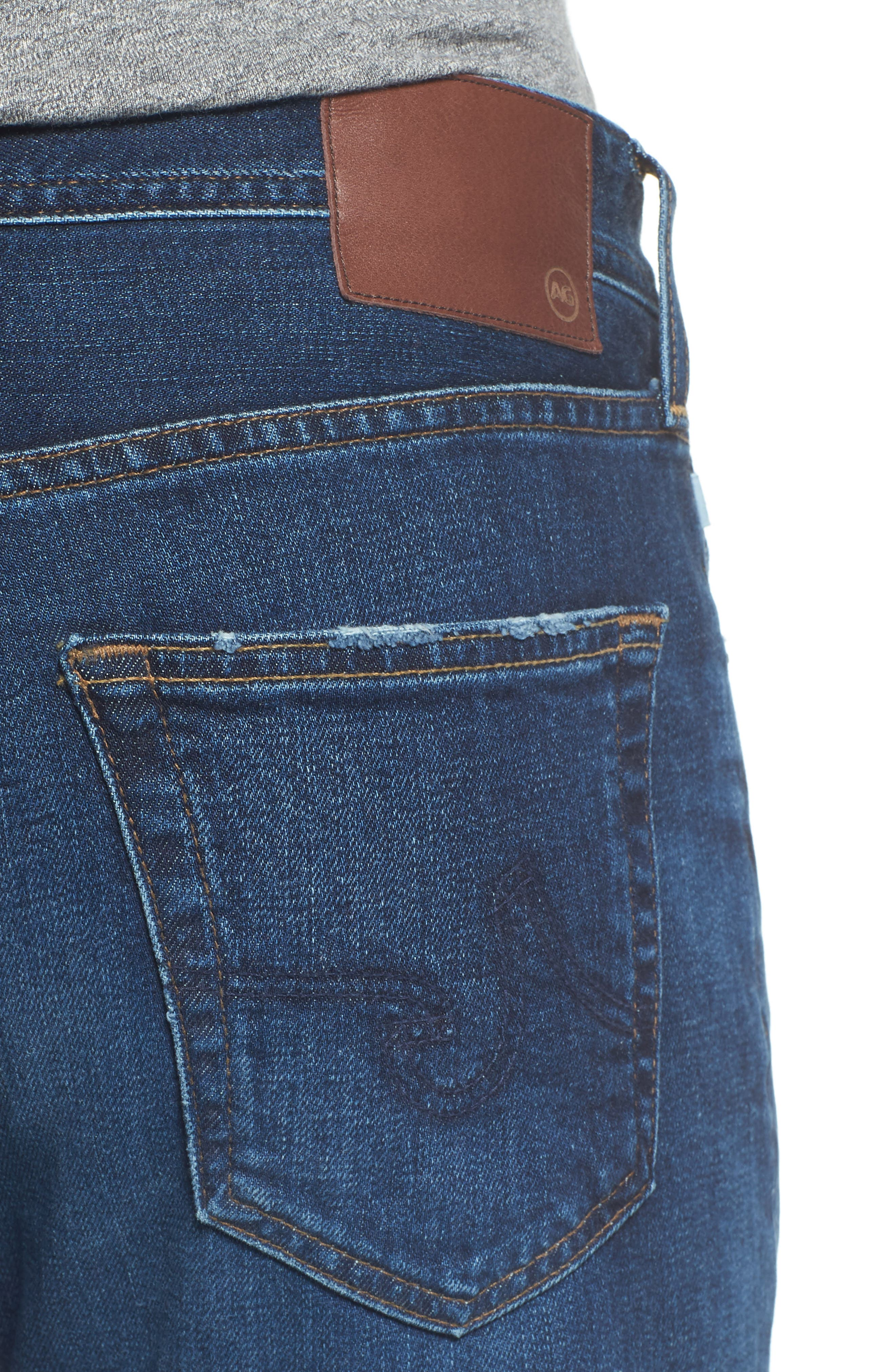 Alternate Image 4  - AG Graduate Slim Straight Leg Jeans (9 Years Aflame)