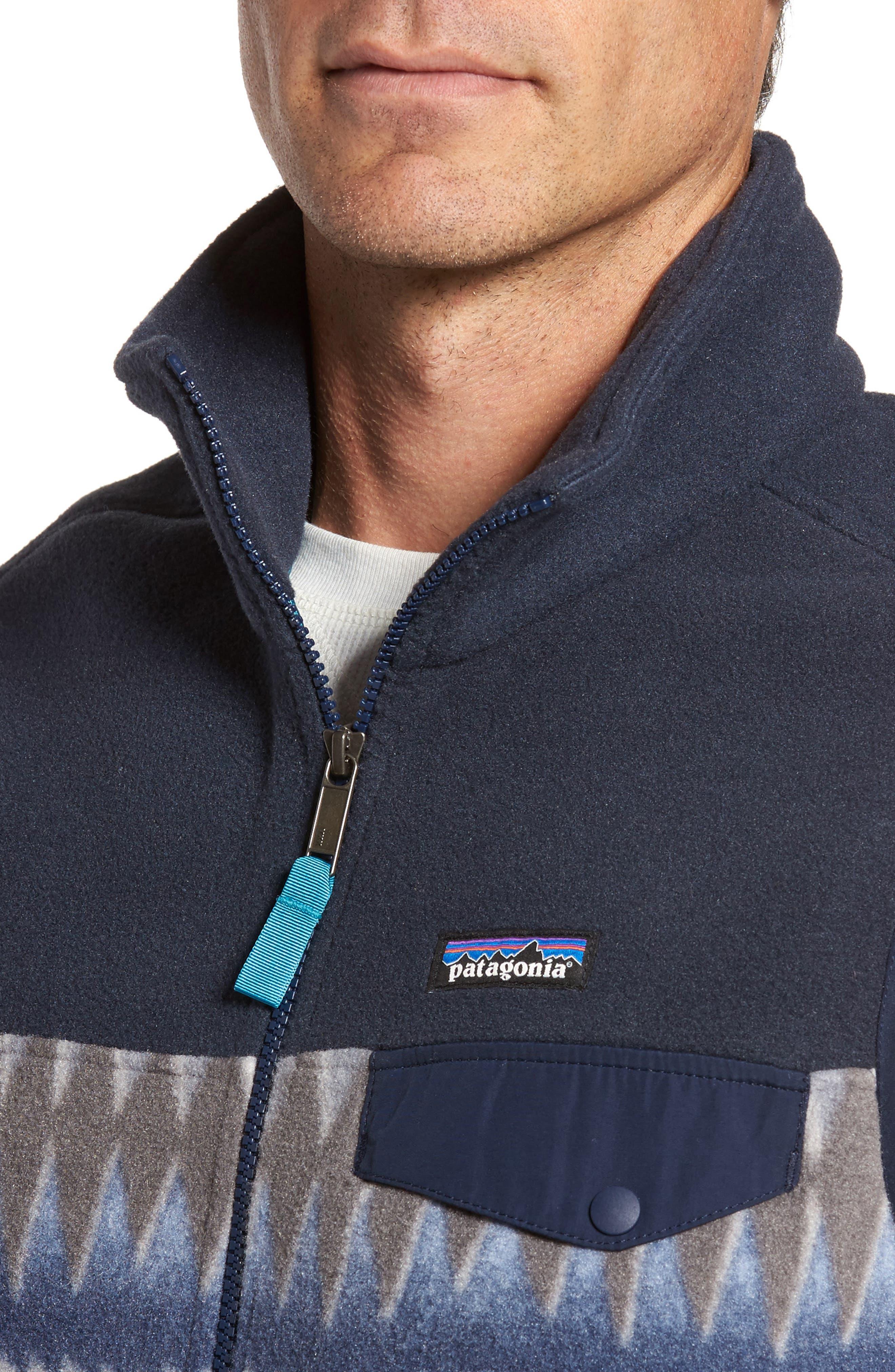 Alternate Image 4  - Patagonia Synchilla®Snap-T® Zip FleeceVest