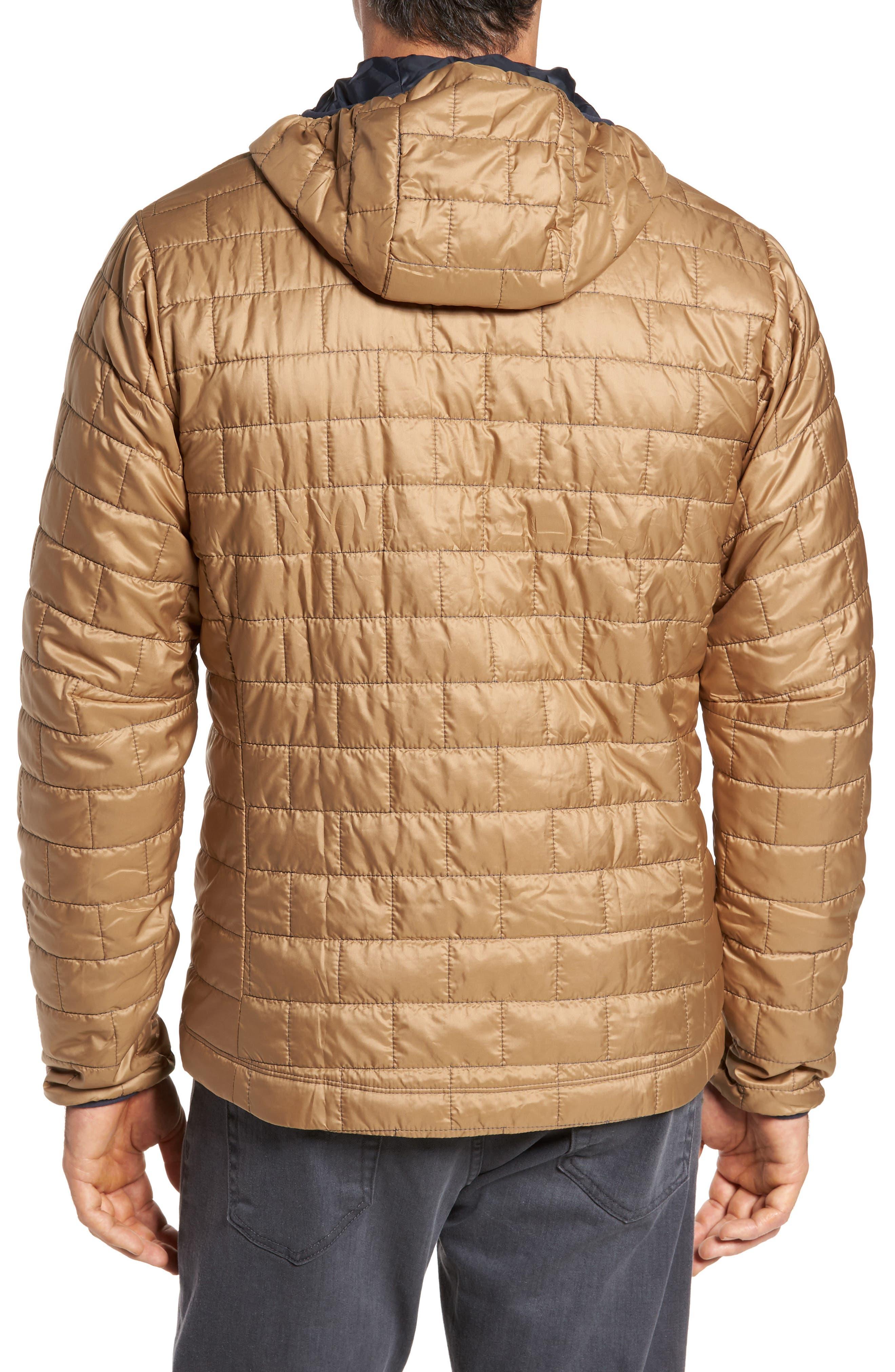 Nano Puff<sup>®</sup> Bivy Regular Fit Water Resistant Jacket,                             Alternate thumbnail 2, color,                             Mojave Khaki