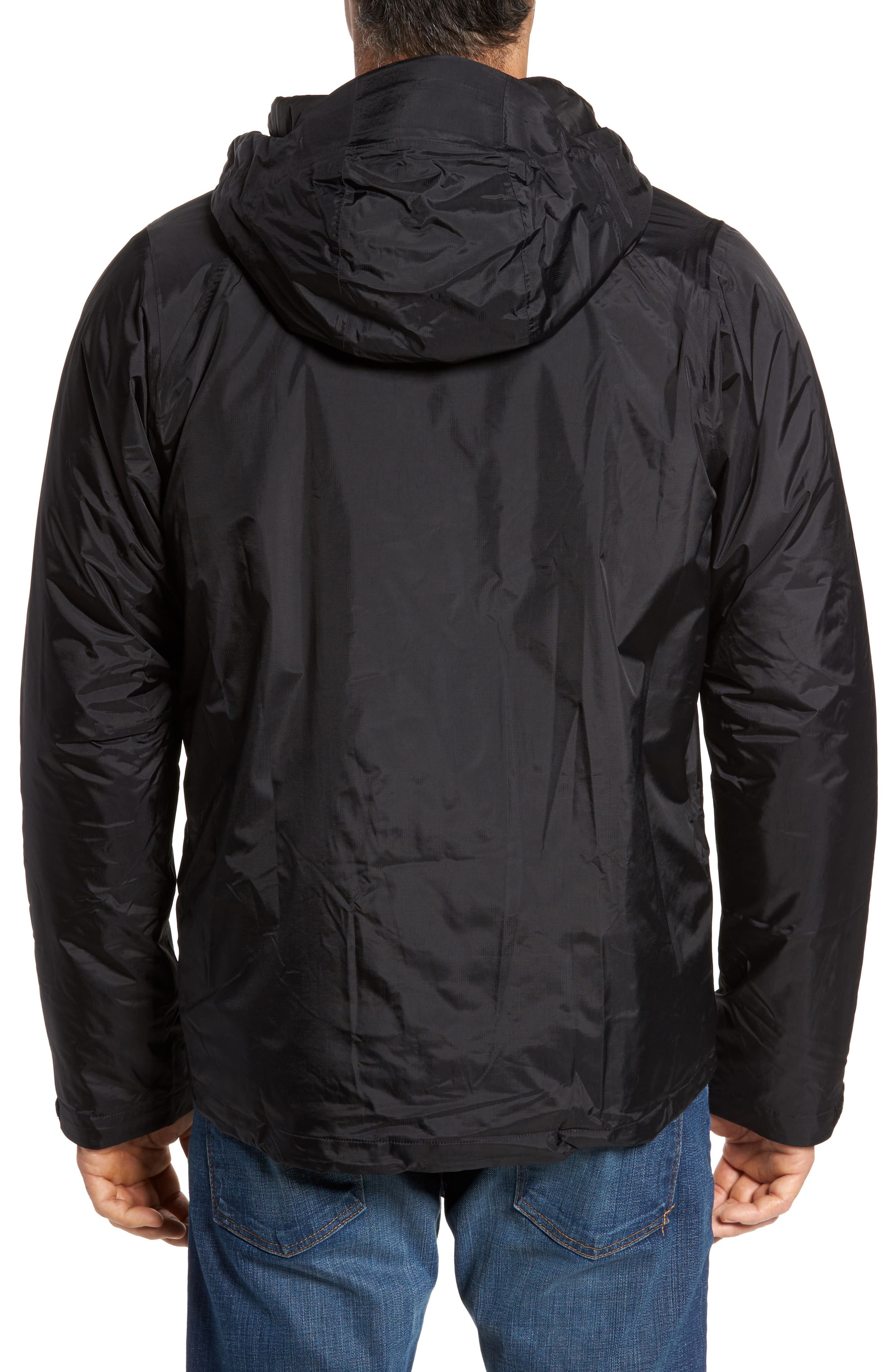 Torrentshell H2No<sup>®</sup> Packable Insulated Rain Jacket,                             Alternate thumbnail 2, color,                             Black