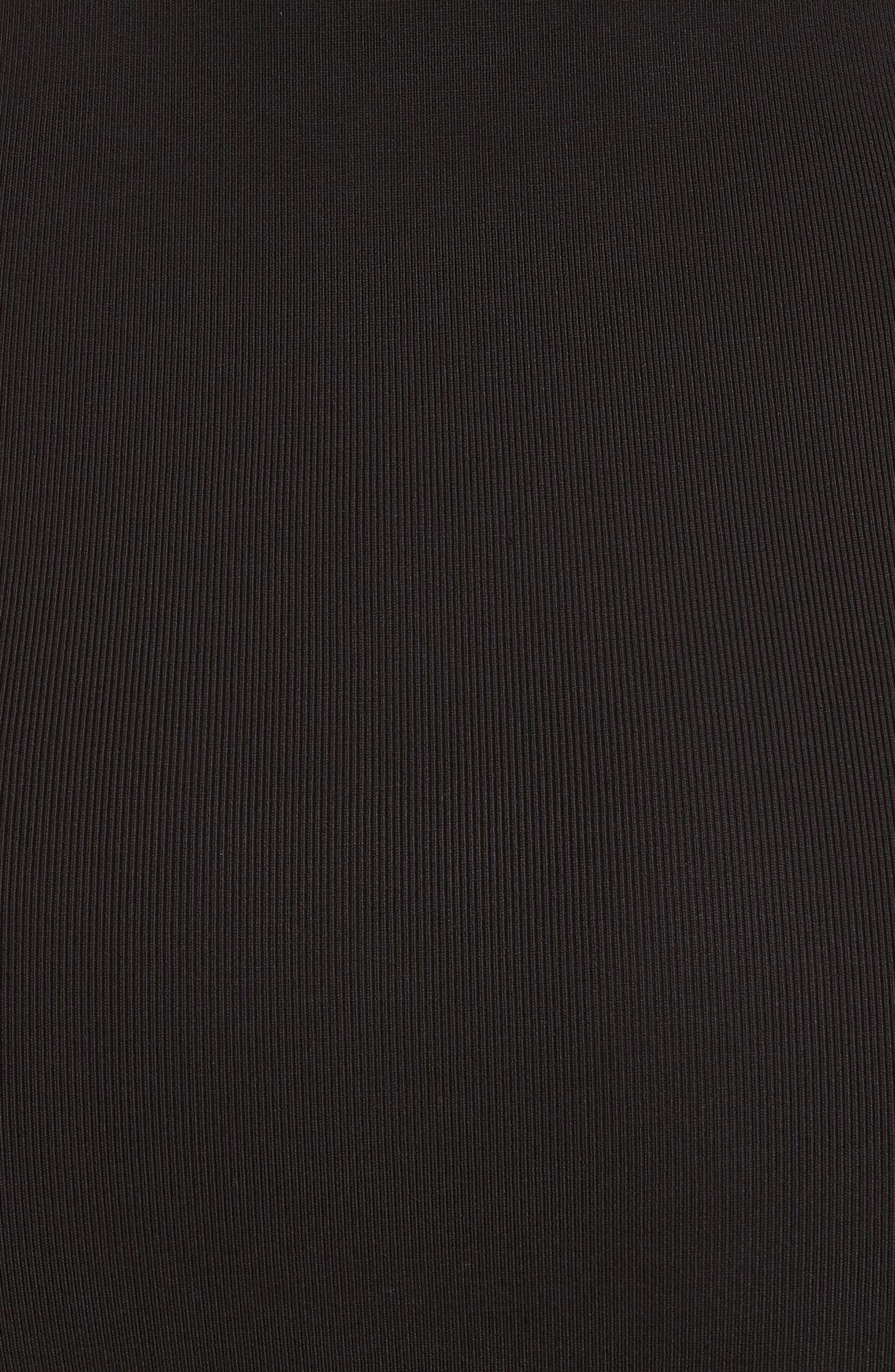 Alternate Image 5  - T by Alexander Wang Tie Detail Rib Knit Dress