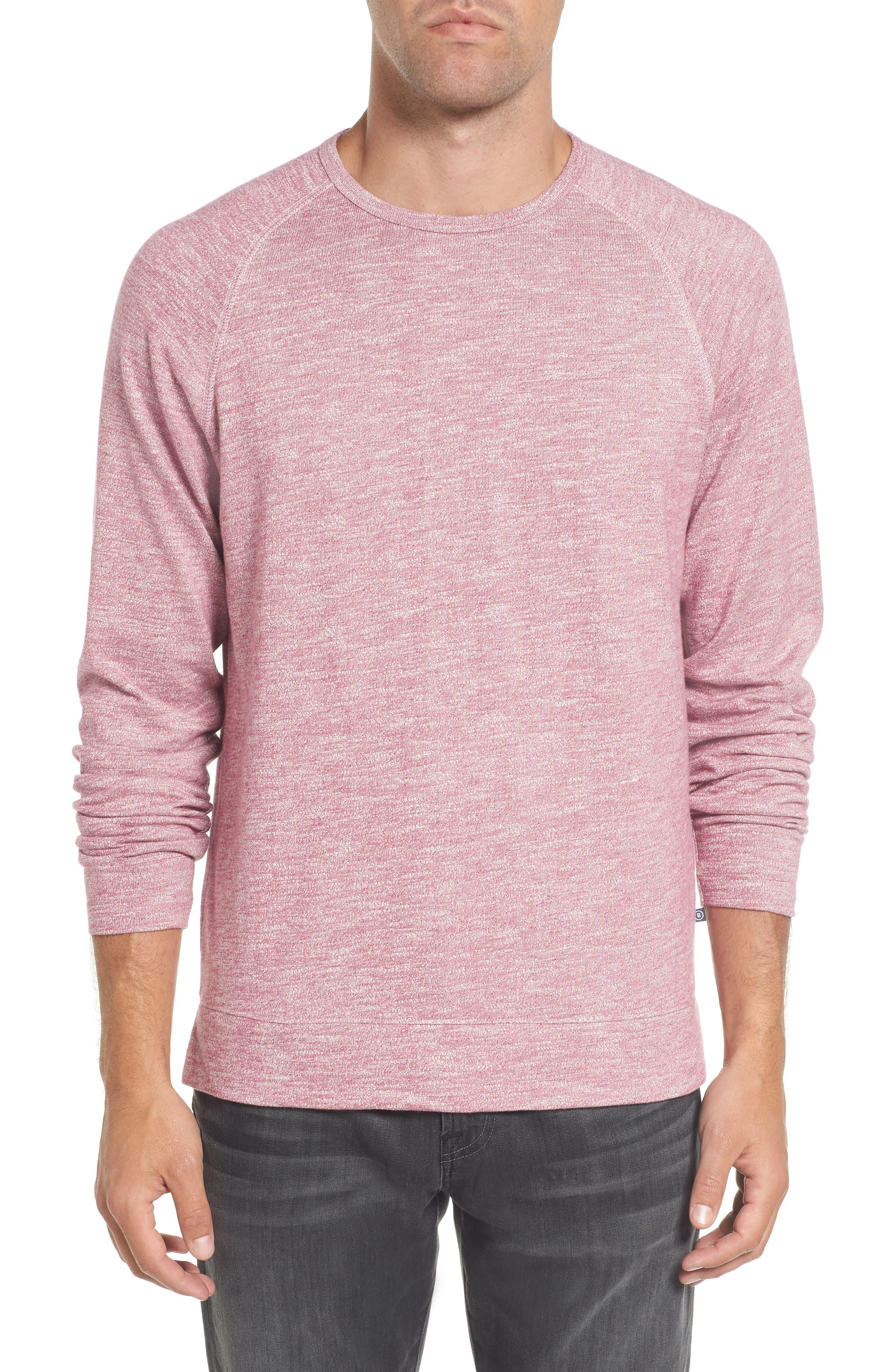 Slim Fit Stripe T-Shirt,                         Main,                         color, Heather Berry