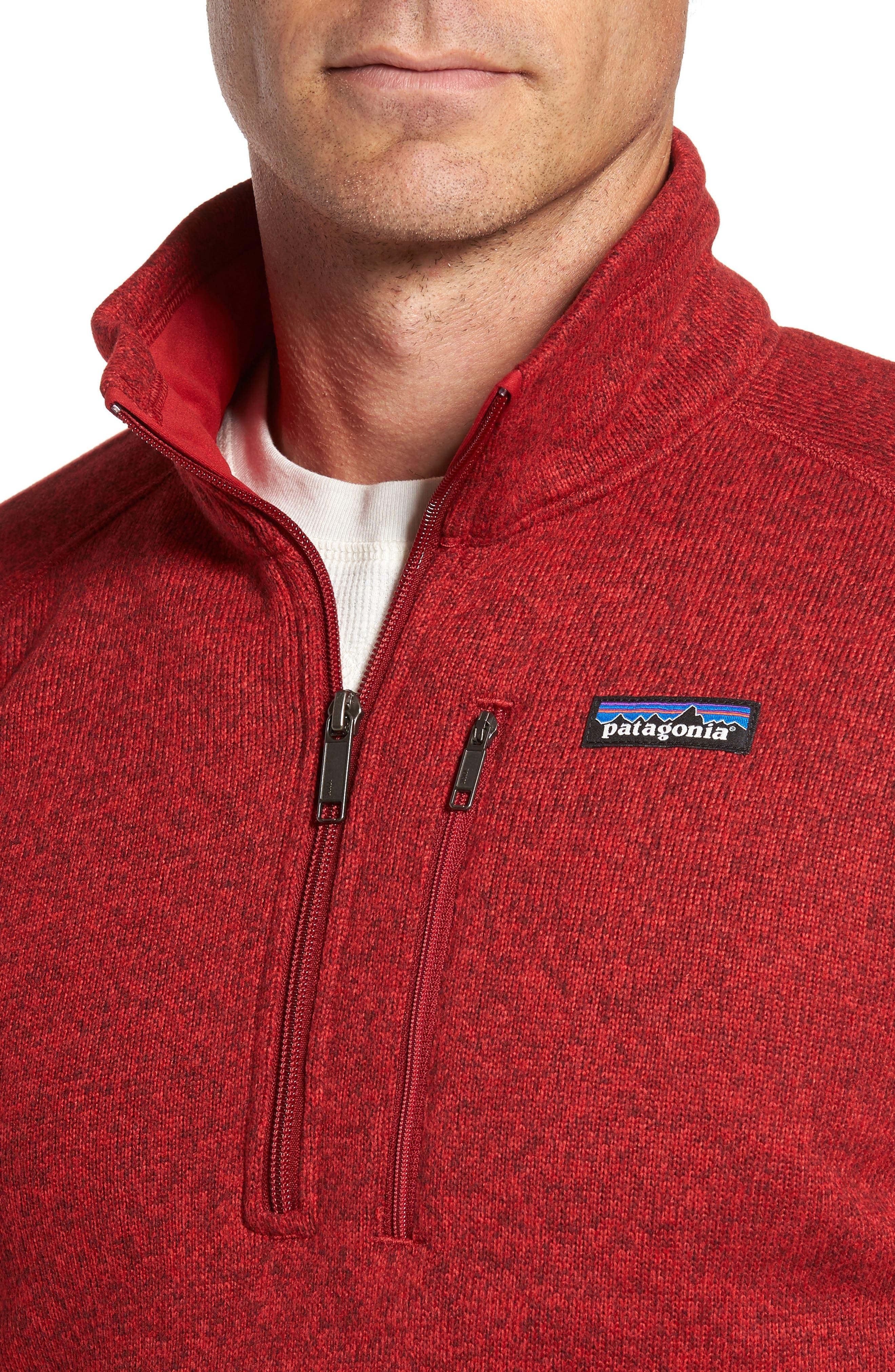 Alternate Image 4  - Patagonia 'Better Sweater' Quarter Zip Pullover