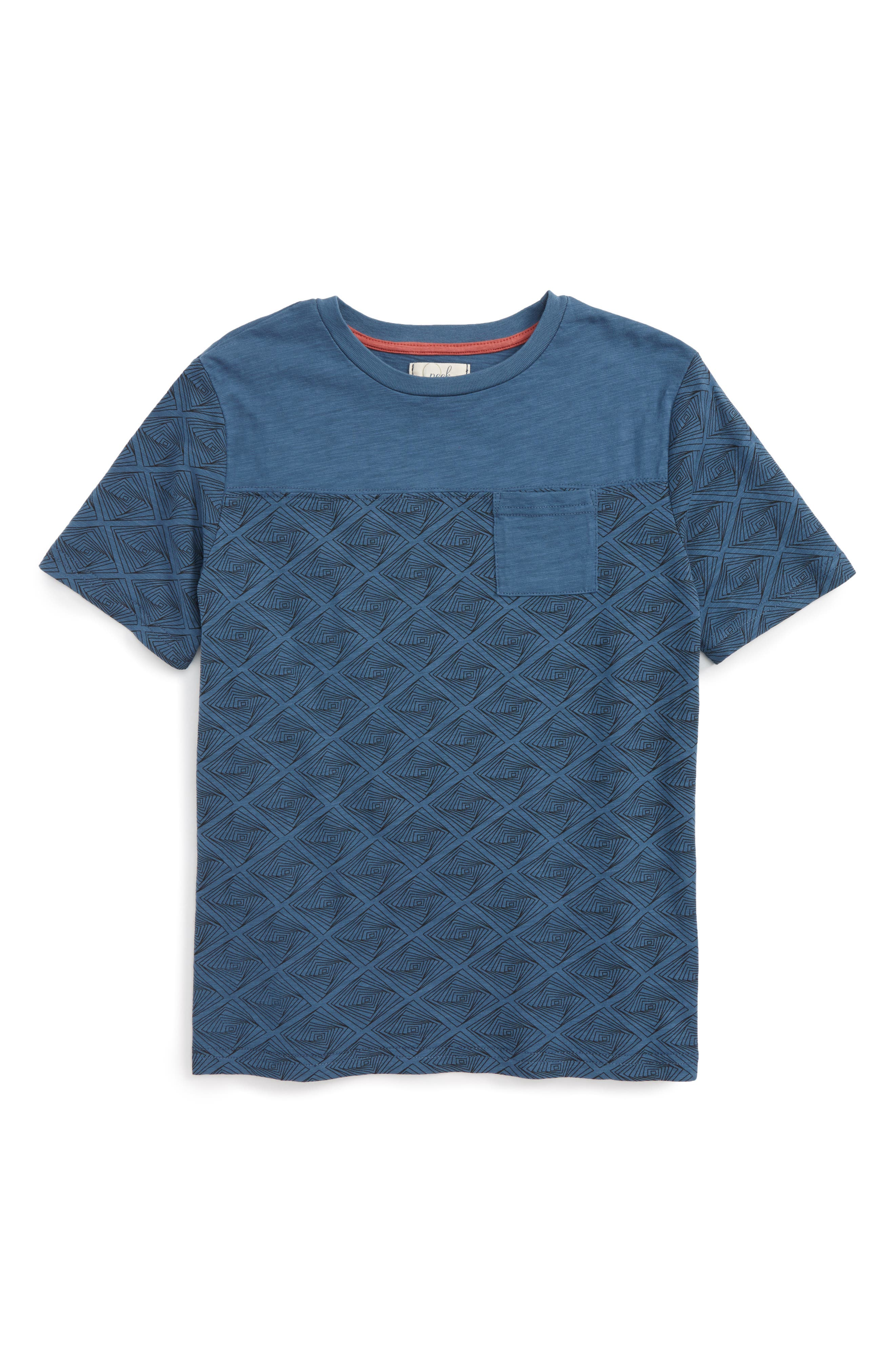 Peek Geo Print T-Shirt (Toddler Boys, Little Boys & Big Boys)