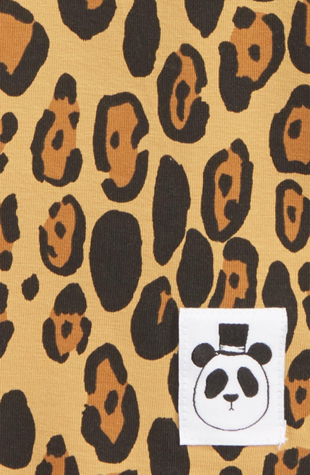 Leopard T-Shirt,                             Alternate thumbnail 2, color,                             Beige