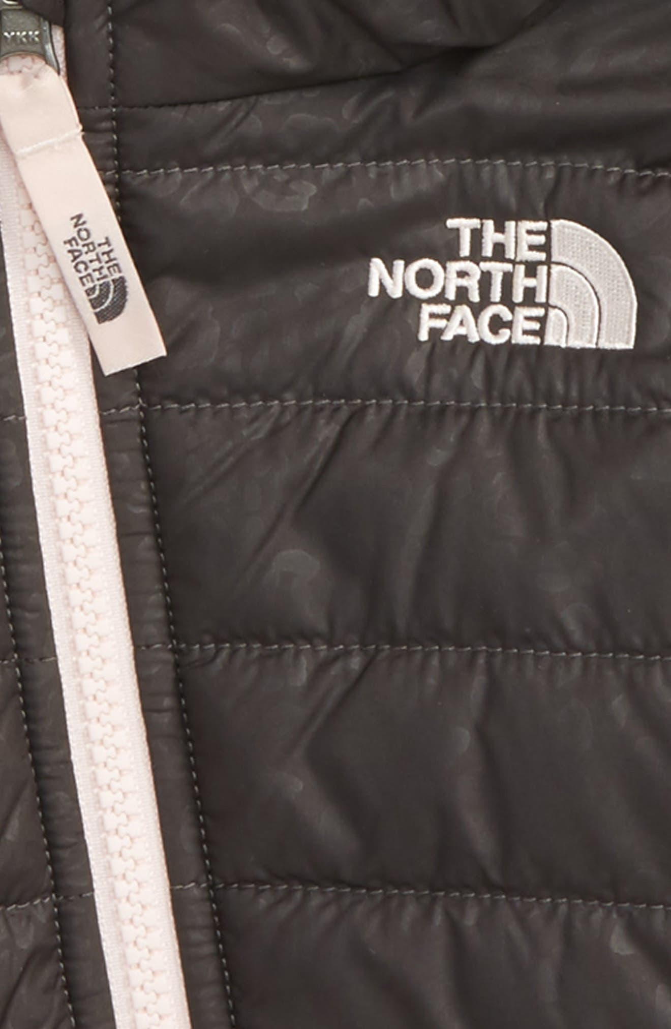 Alternate Image 3  - The North Face Mossbud Swirl Reversible Water Repellent Jacket (Baby Girls)