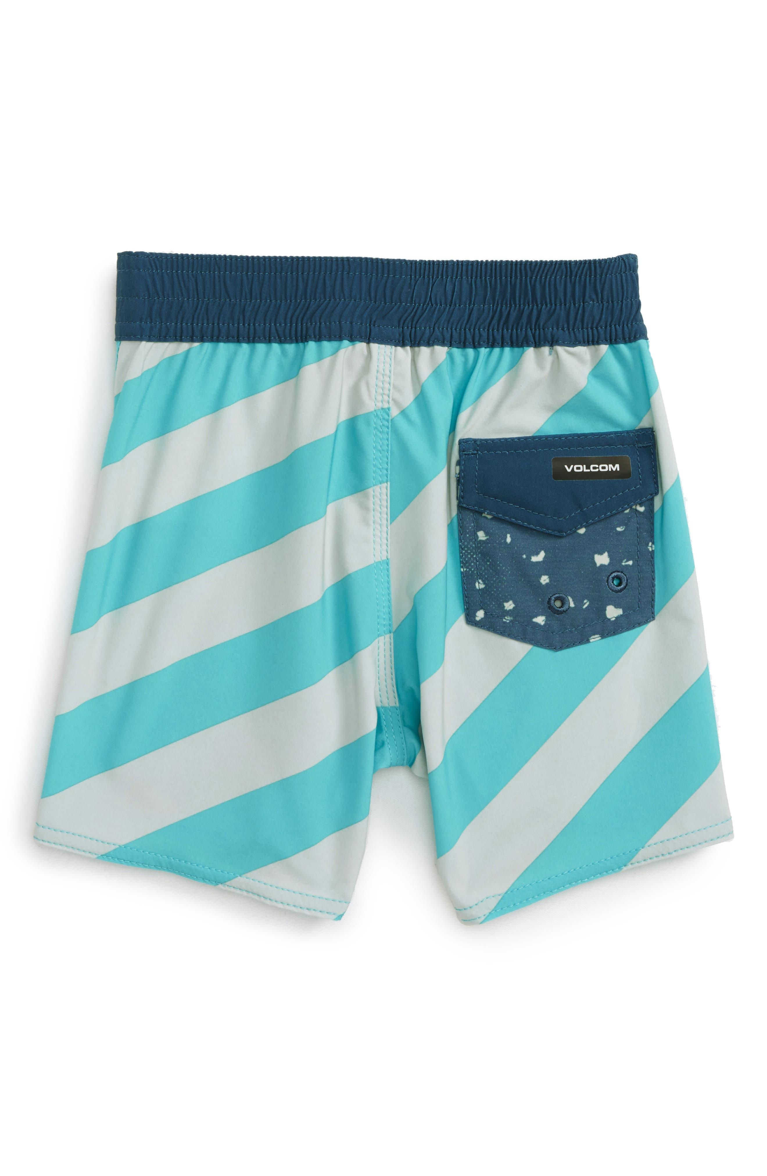 Alternate Image 2  - Volcom Stripey Jammer Board Shorts (Toddler Boys & Little Boys)