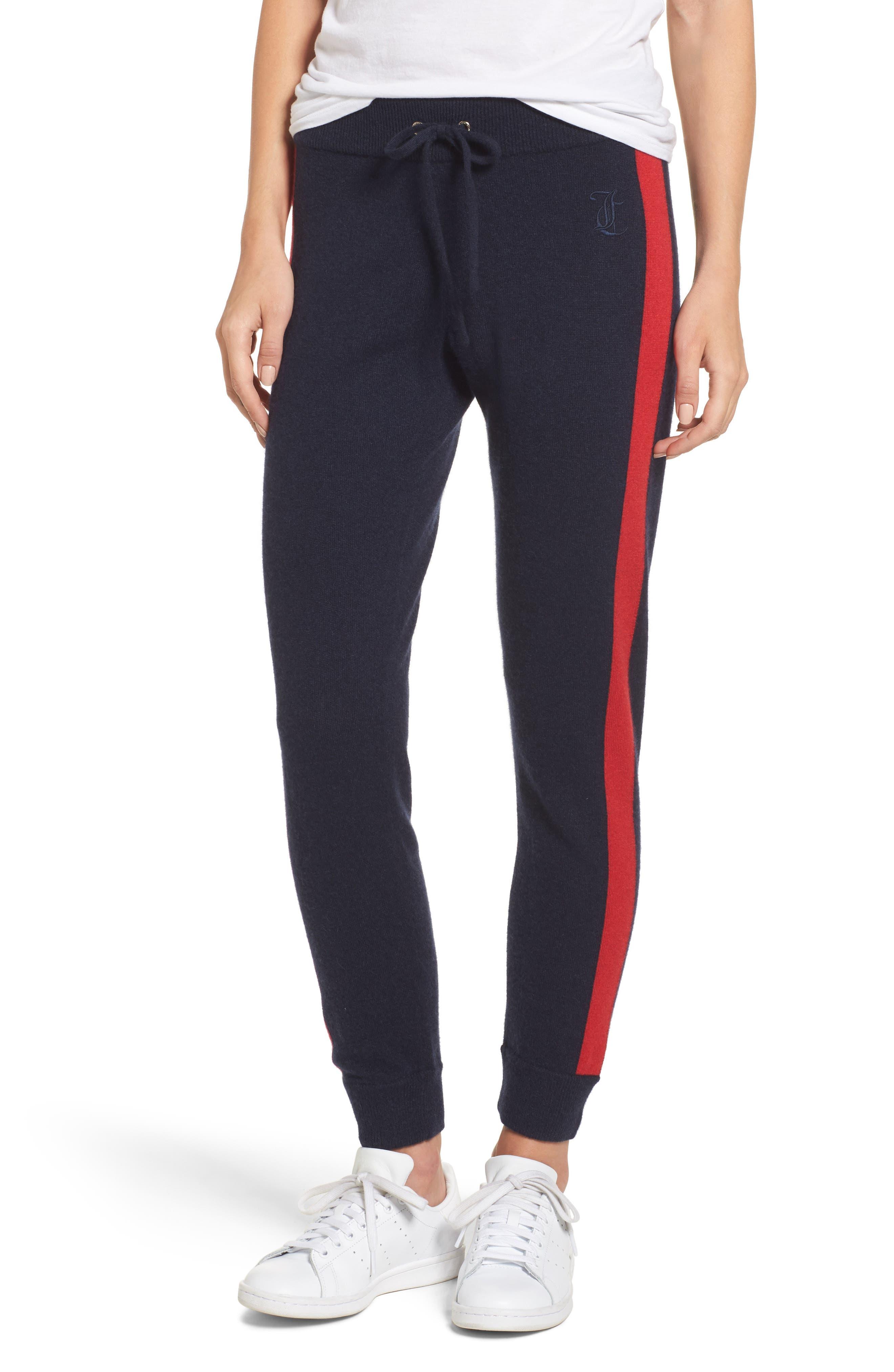 Juicy Couture Colorblock Cashmere Jogger Pants