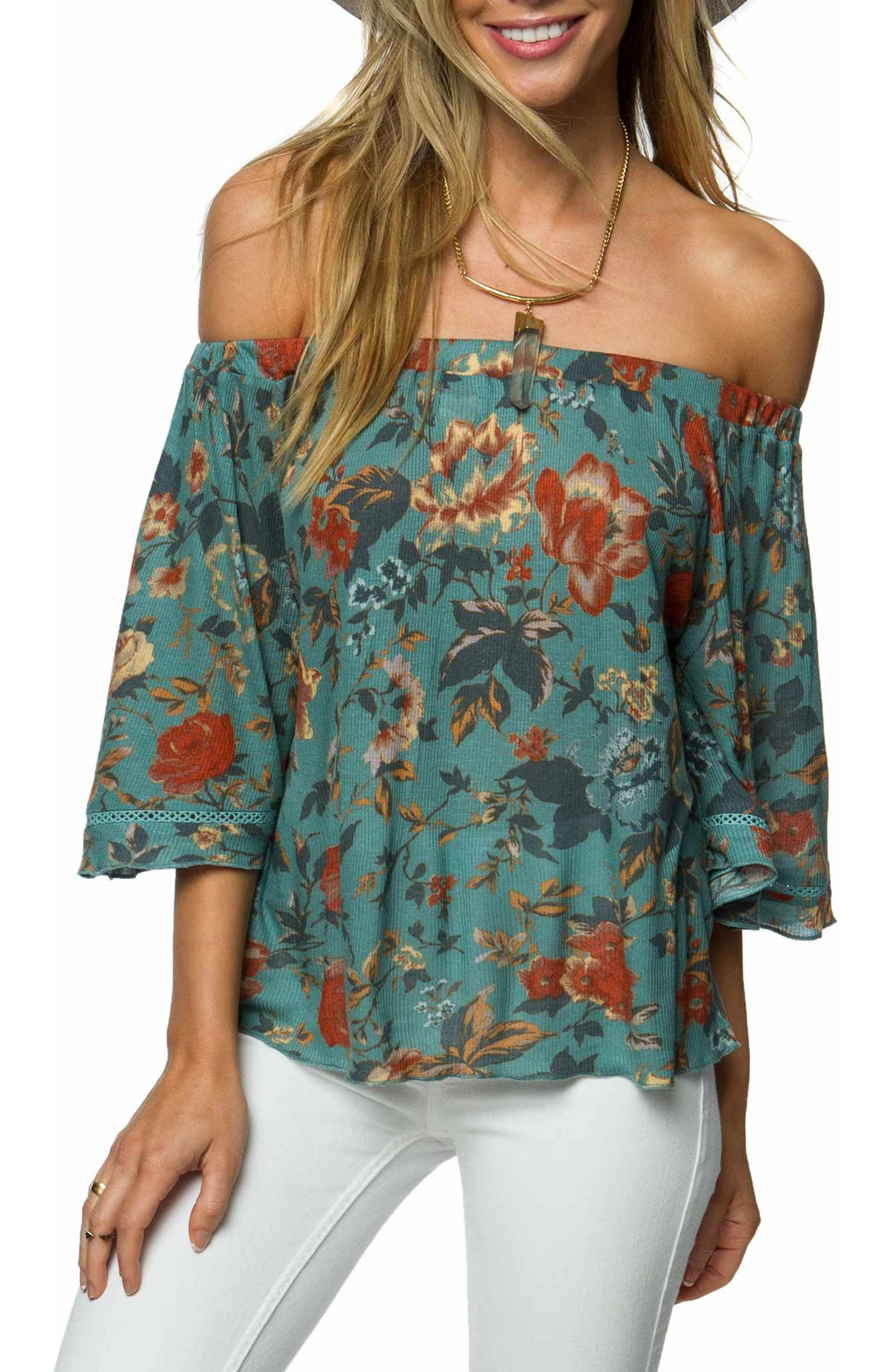 Alternate Image 1 Selected - O'Neill Rudy Off the Shoulder Top