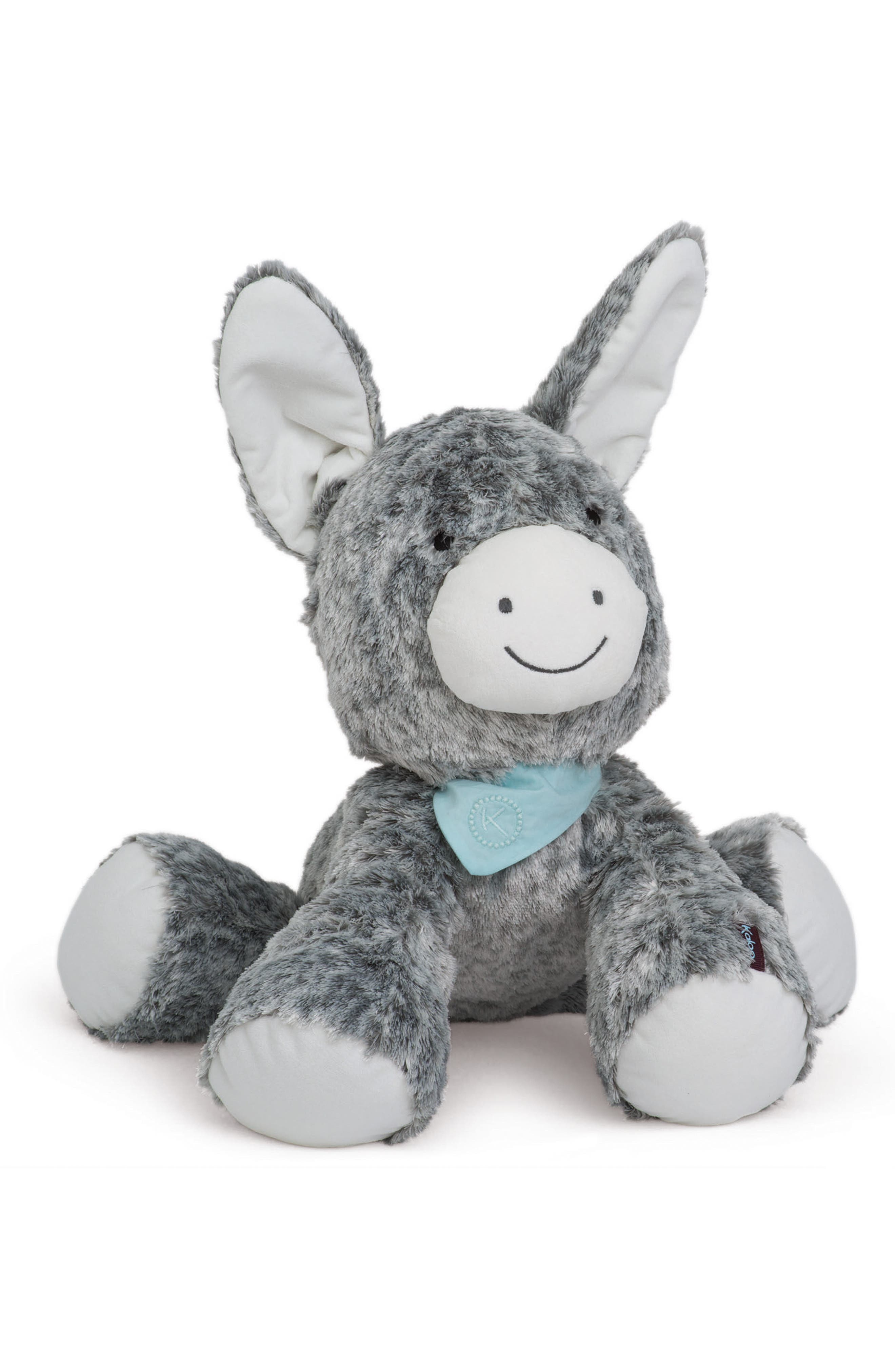 Regliss the Donkey Stuffed Animal,                             Main thumbnail 1, color,                             Grey