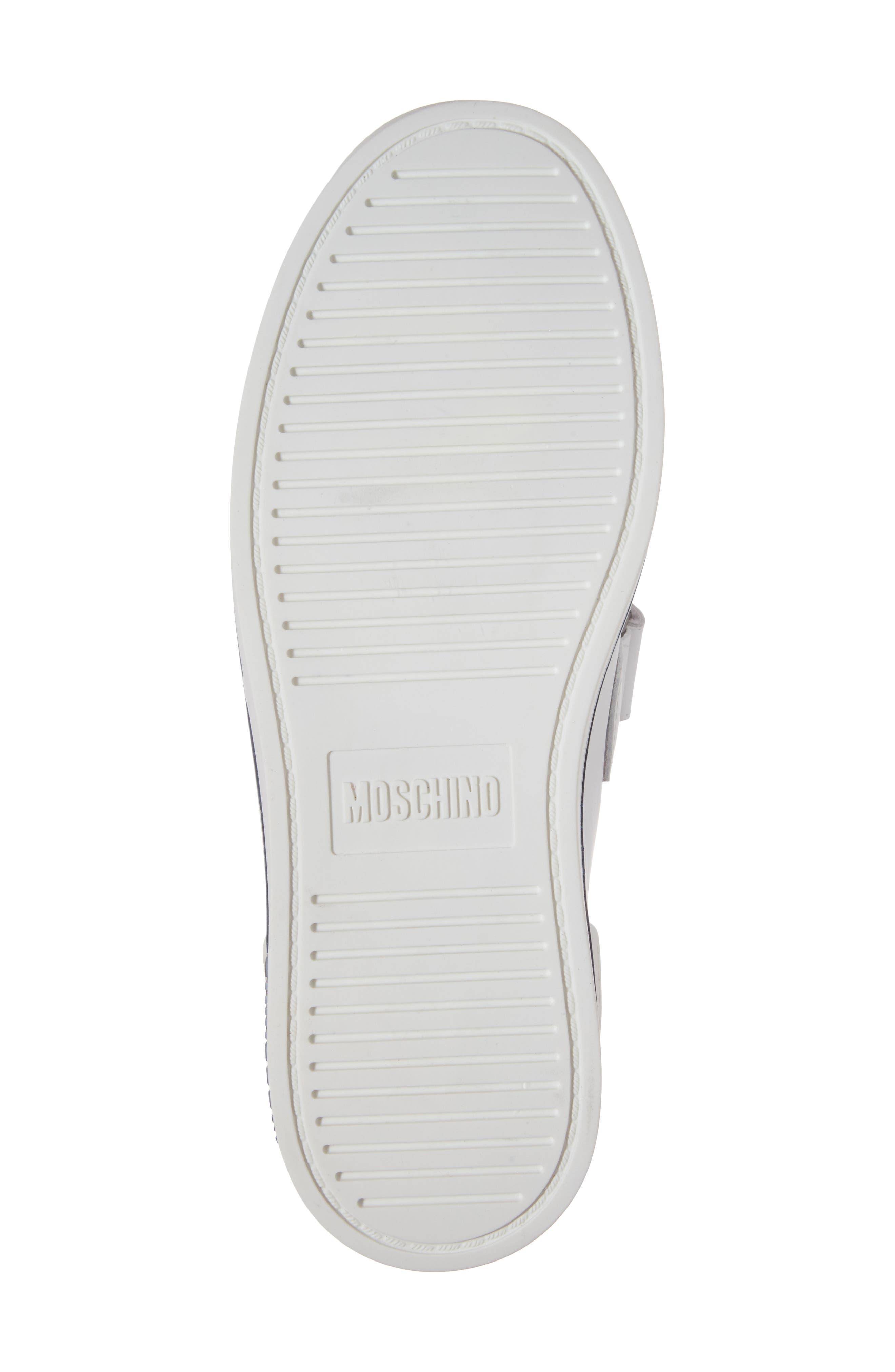 Alternate Image 6  - Moschino Strap Sneaker (Men)