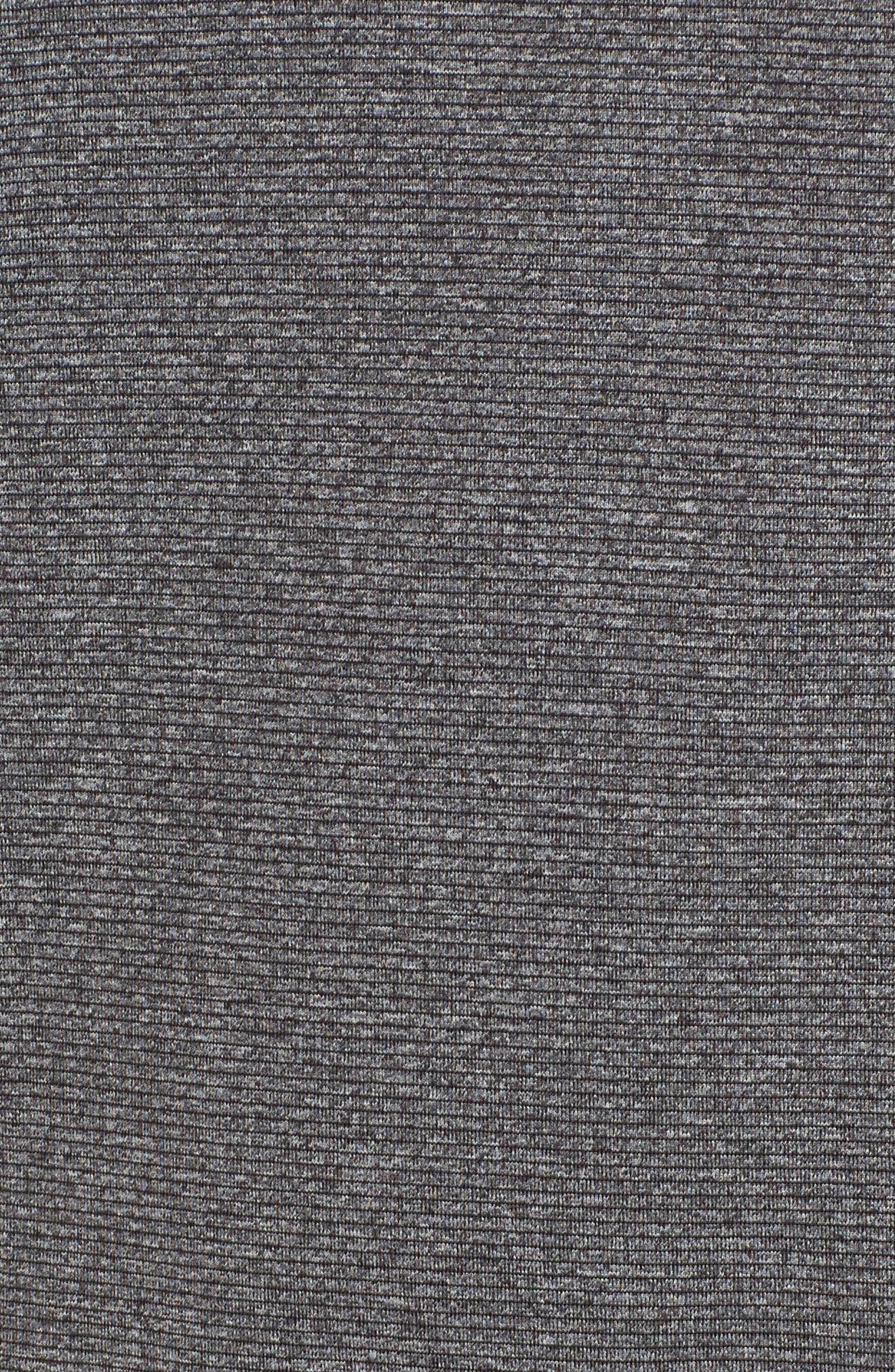 Shoreline - Detroit Lions Half Zip Pullover,                             Alternate thumbnail 5, color,                             Charcoal Heather
