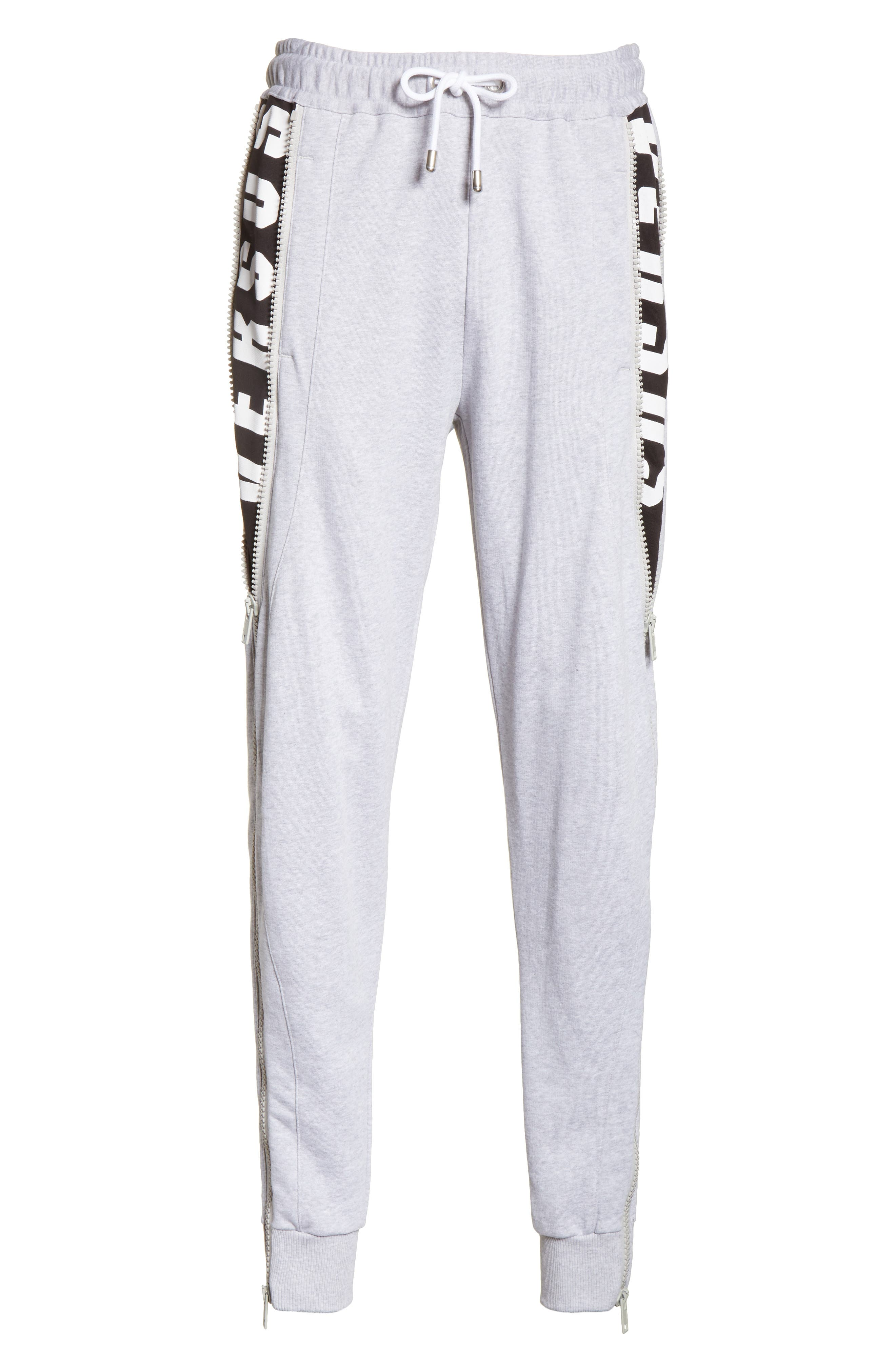 Alternate Image 6  - VERSUS by Versace Side Zip Sweatpants