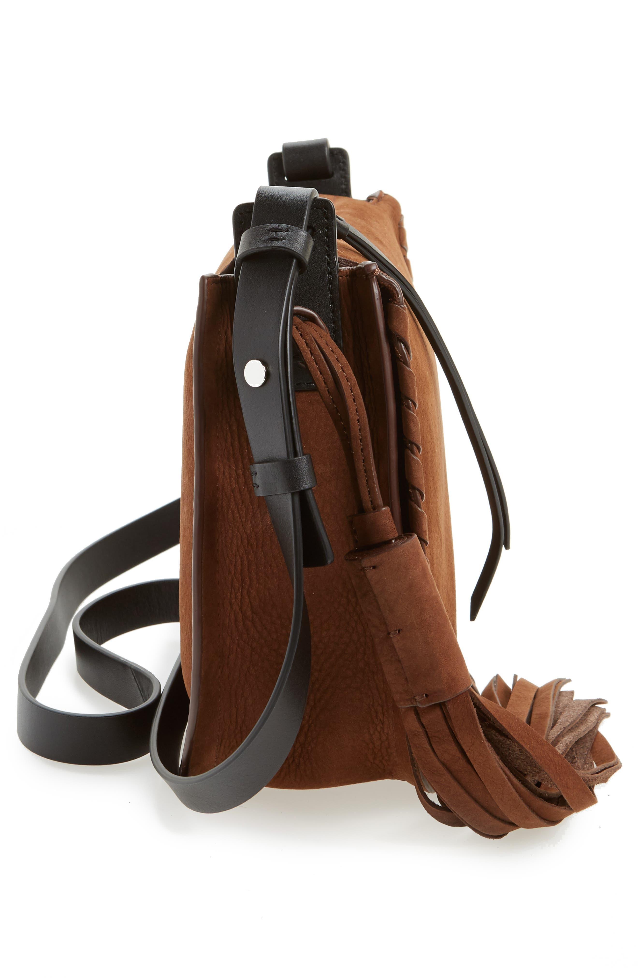 Alternate Image 3  - ALLSAINTS Mori Suede Crossbody Bag
