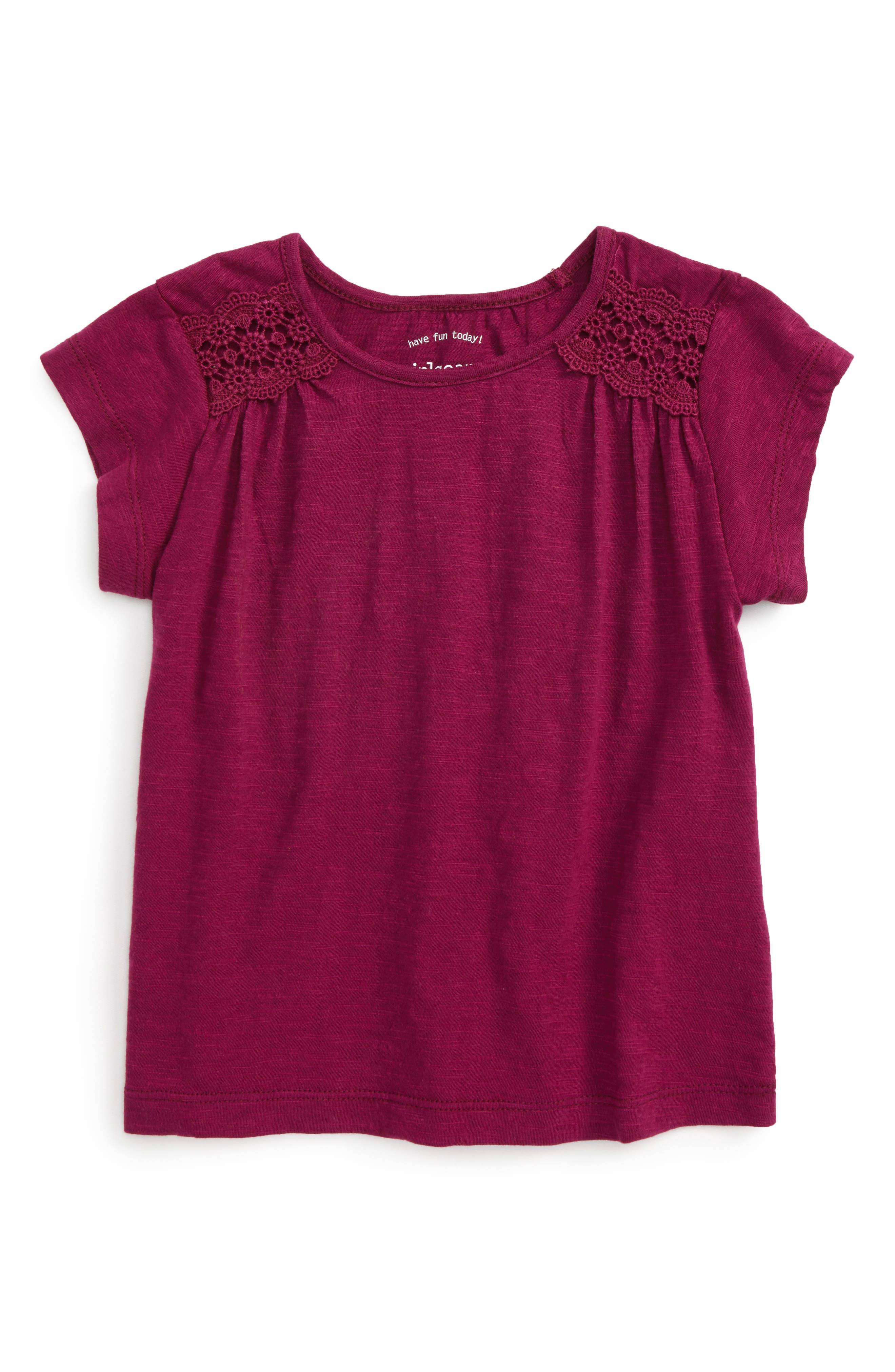 Peek Lisa Cotton Tee (Toddler Girls, Little Girls & Big Girls)