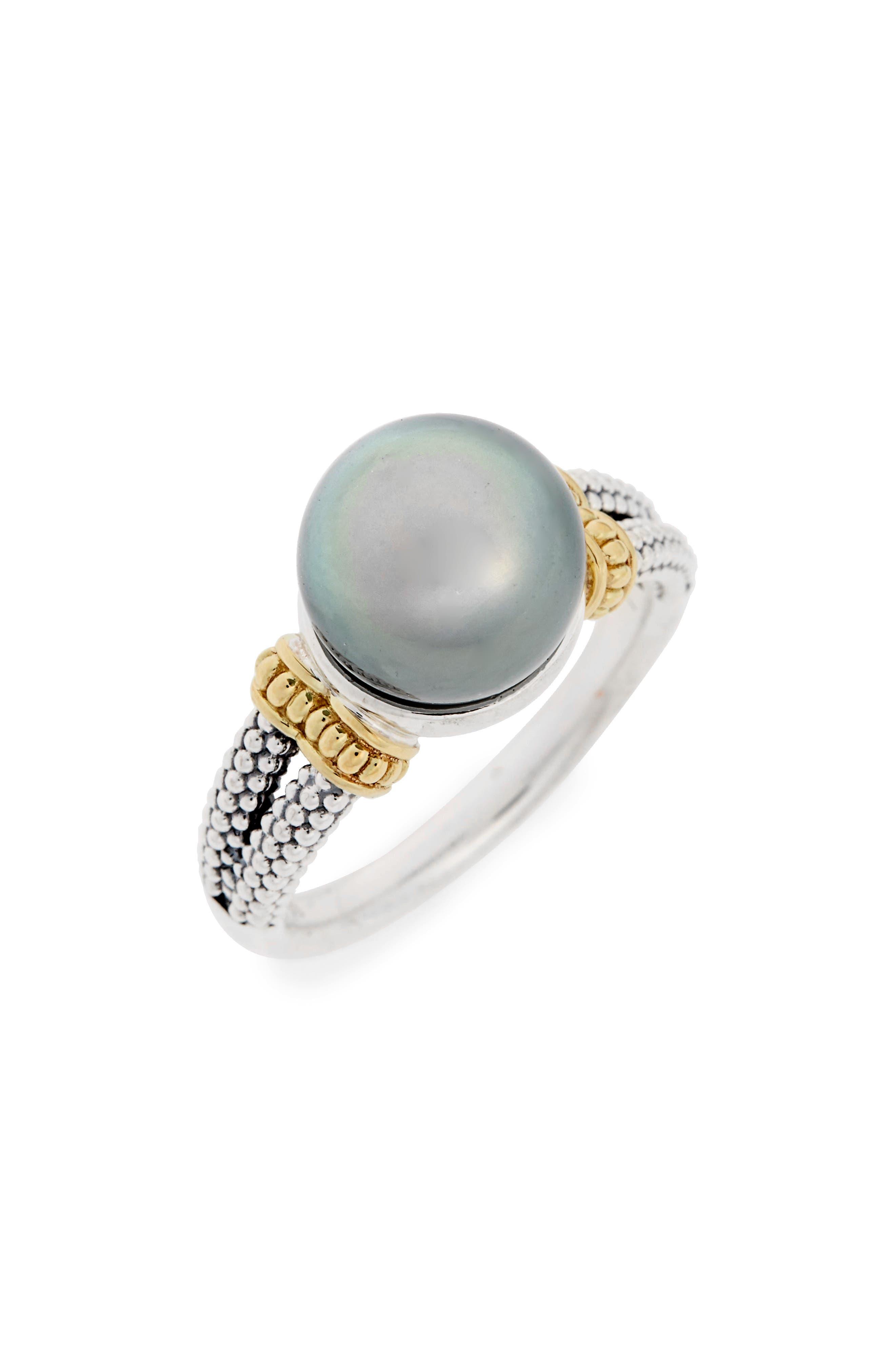 Alternate Image 1 Selected - LAGOS Luna Pearl Ring