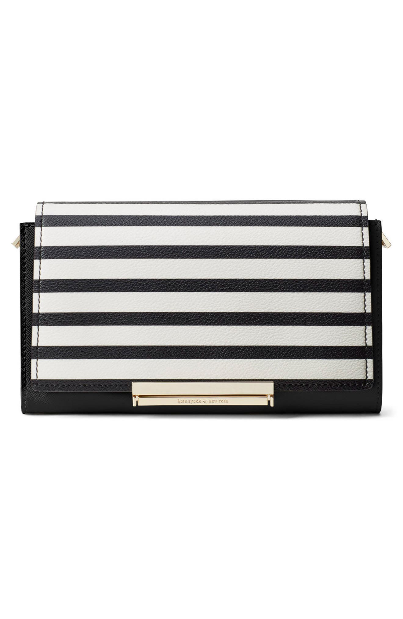 Alternate Image 4  - kate spade new york make it mine stripe snap-on accent flap