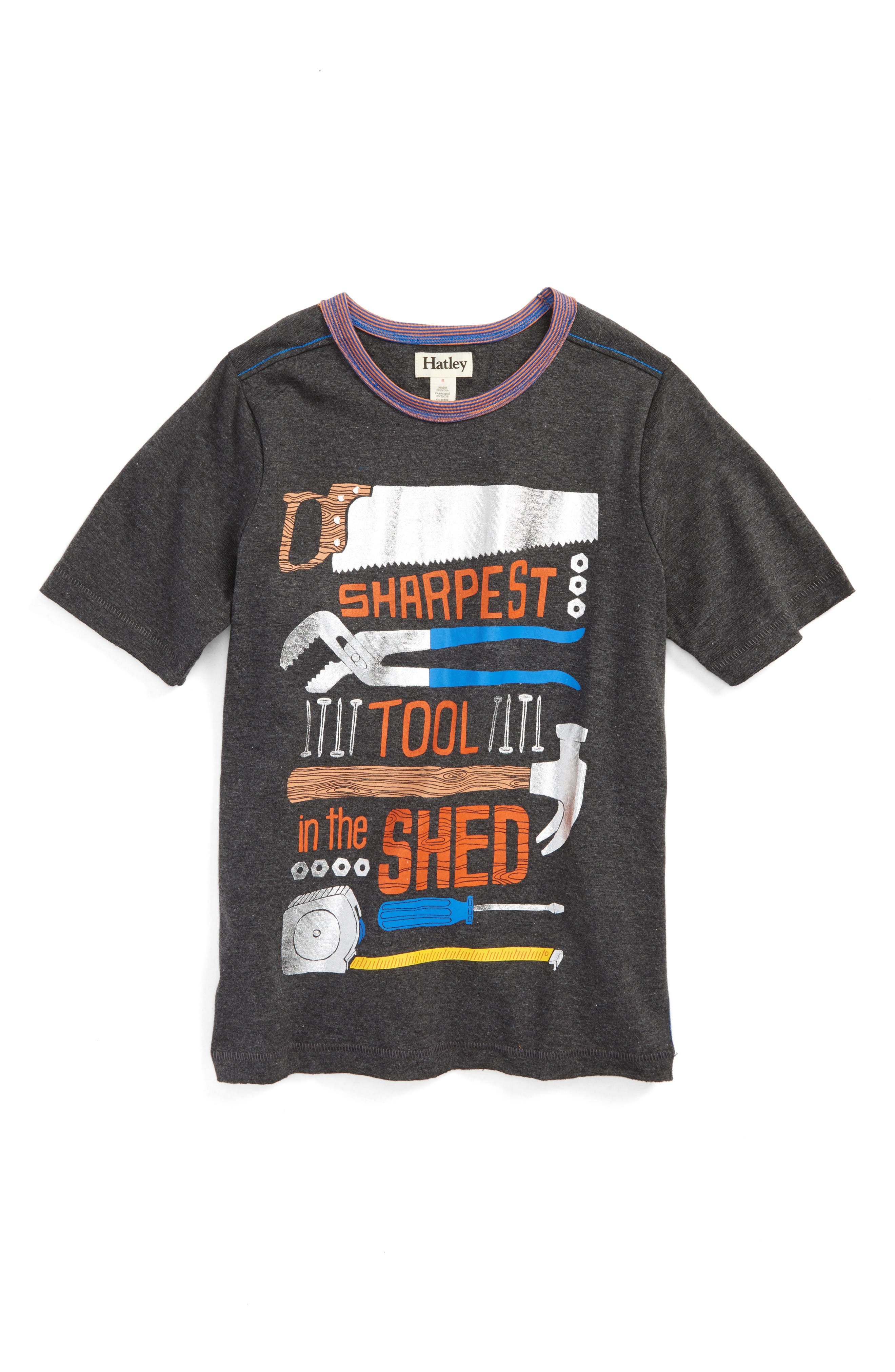 Hatley Sharpest Tool in the Shed T-Shirt (Toddler Boys, Little Boys & Big Boys)