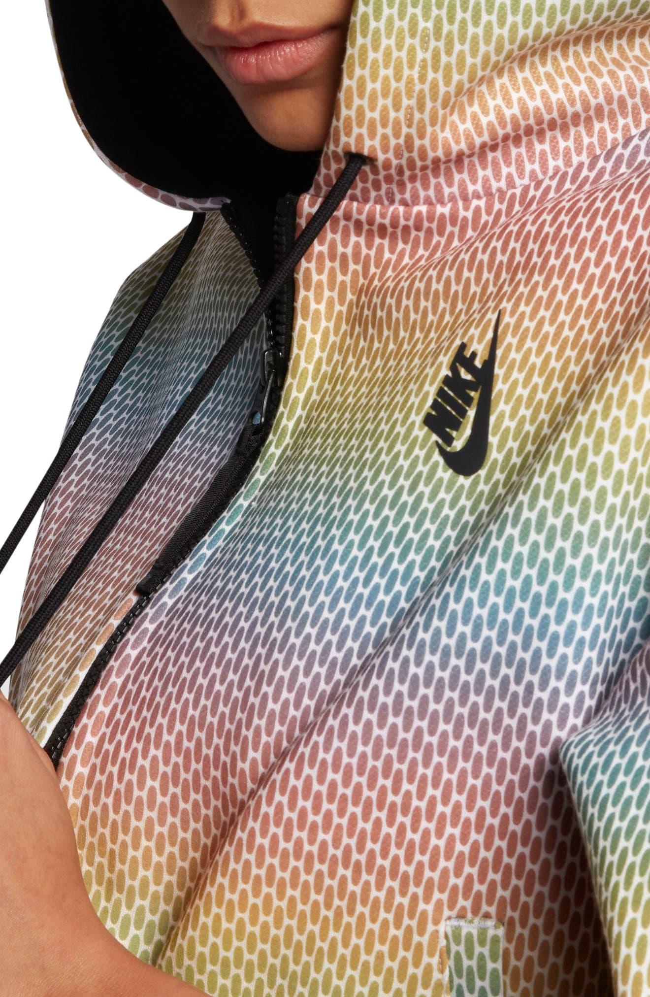 Alternate Image 8  - Nike NikeLab Oil Slick Hoodie