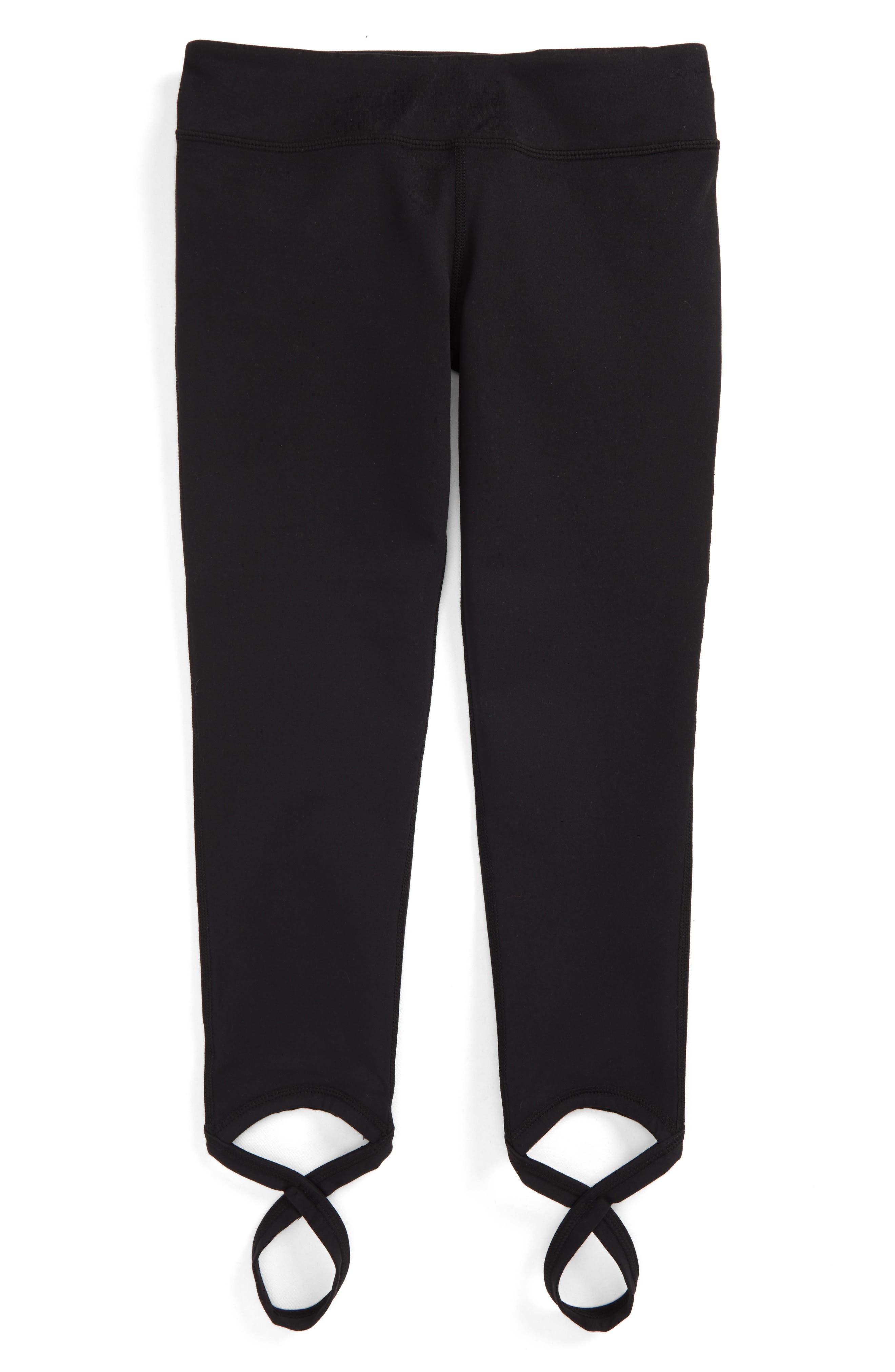 Zella Ankle Wrap Crop Leggings,                             Main thumbnail 1, color,                             Black