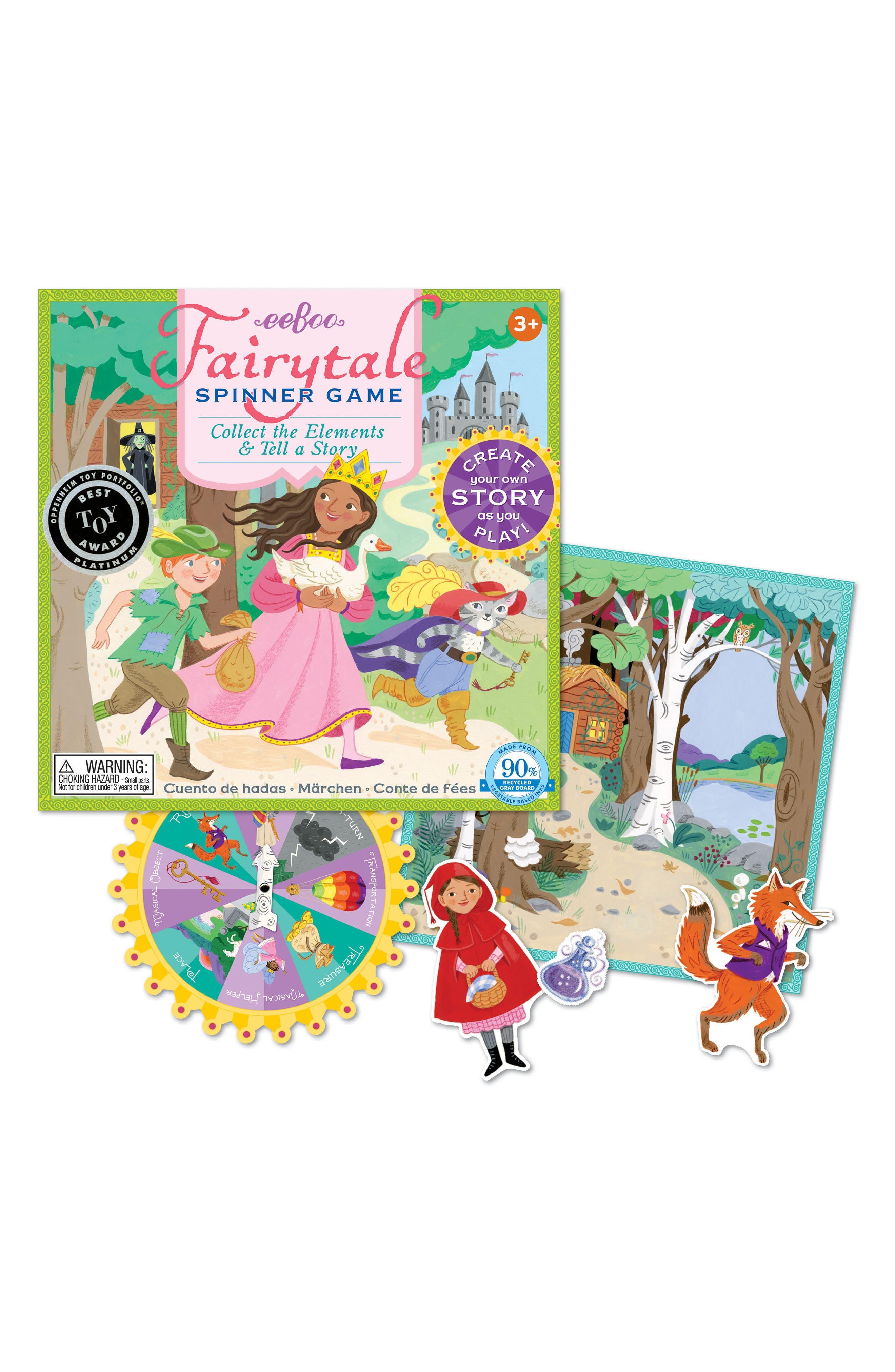 eeBoo Fairy Tale Spinner Game