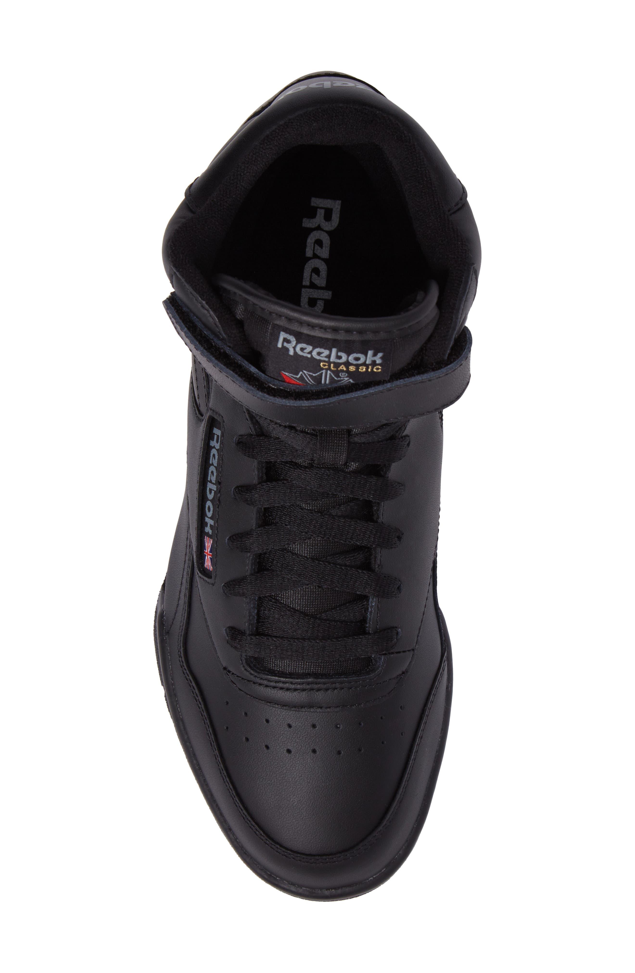 Ex-O-Fit Hi Sneaker,                             Alternate thumbnail 5, color,                             Black