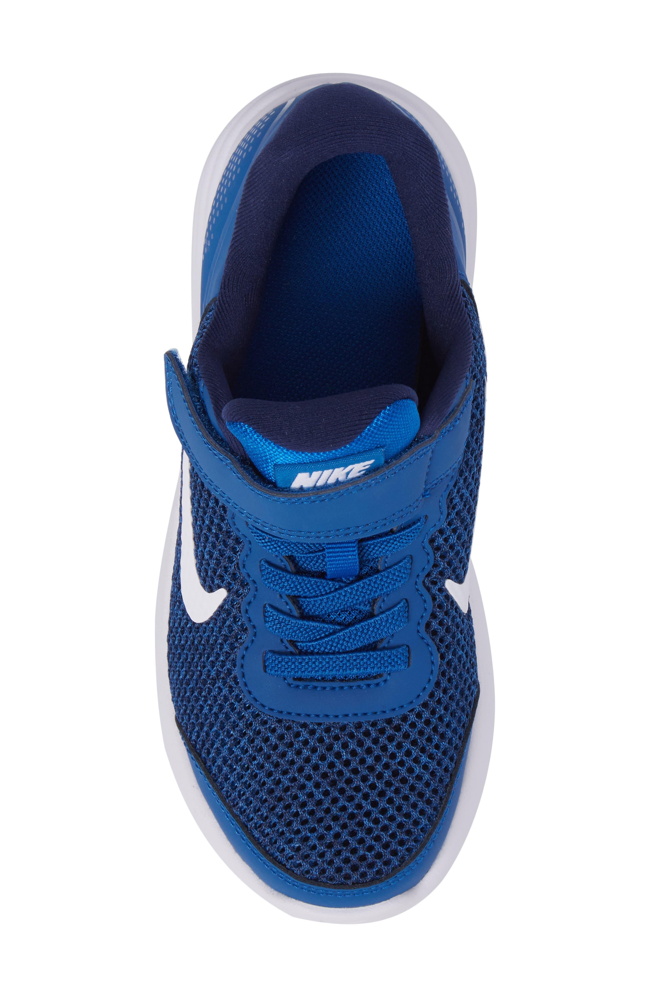 Lunar Apparent Sneaker,                             Alternate thumbnail 5, color,                             Blue Jay/ White/ Binary Blue
