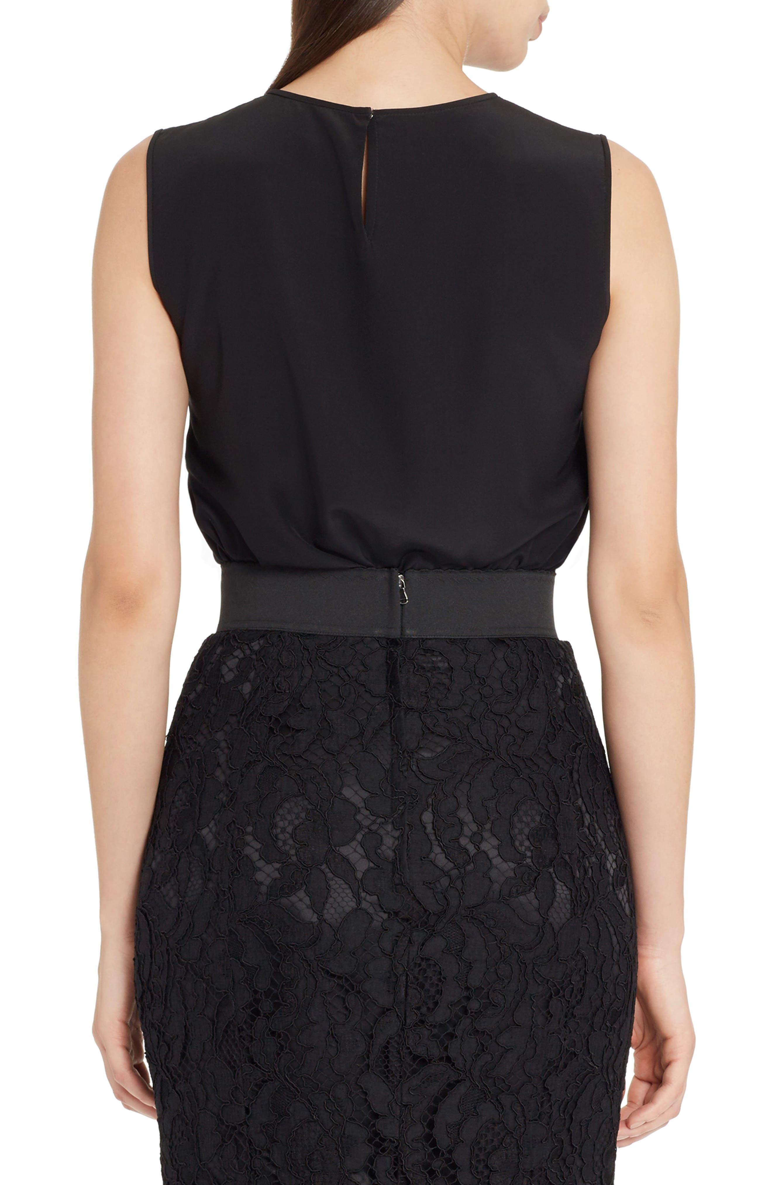 Alternate Image 2  - Dolce&Gabbana Rose Embellished Silk Blouse