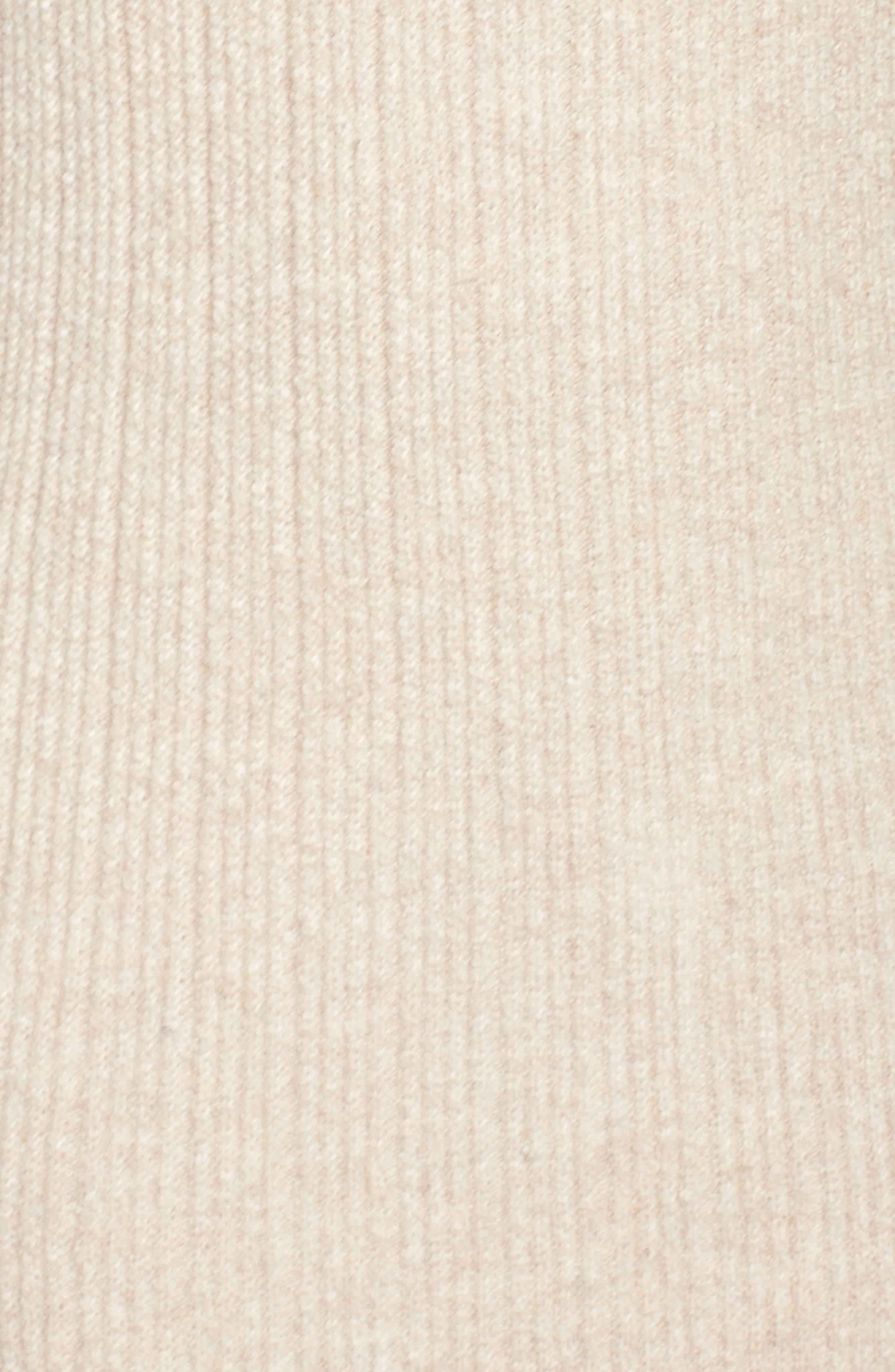 Porter Off the Shoulder Sheath Dress,                             Alternate thumbnail 6, color,                             Camel