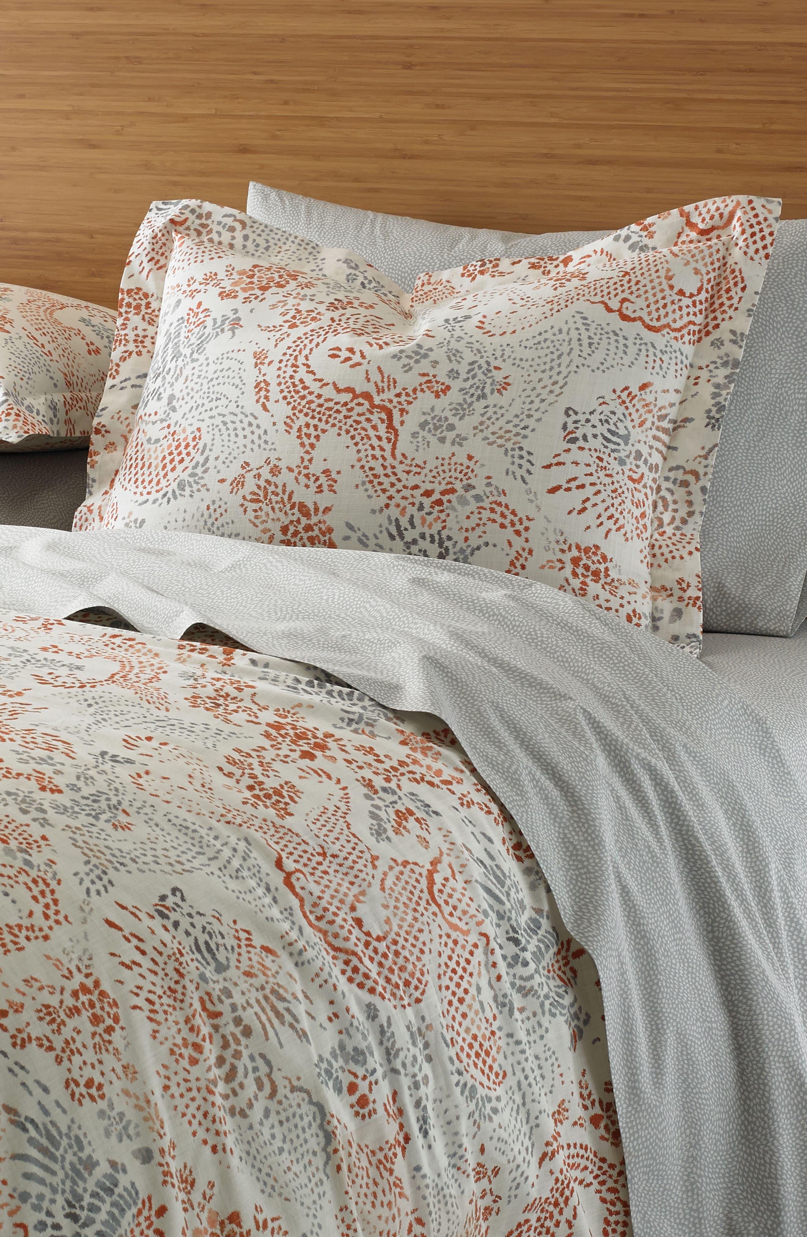 Jakarta Comforter,                             Alternate thumbnail 2, color,                             Sienna Multi