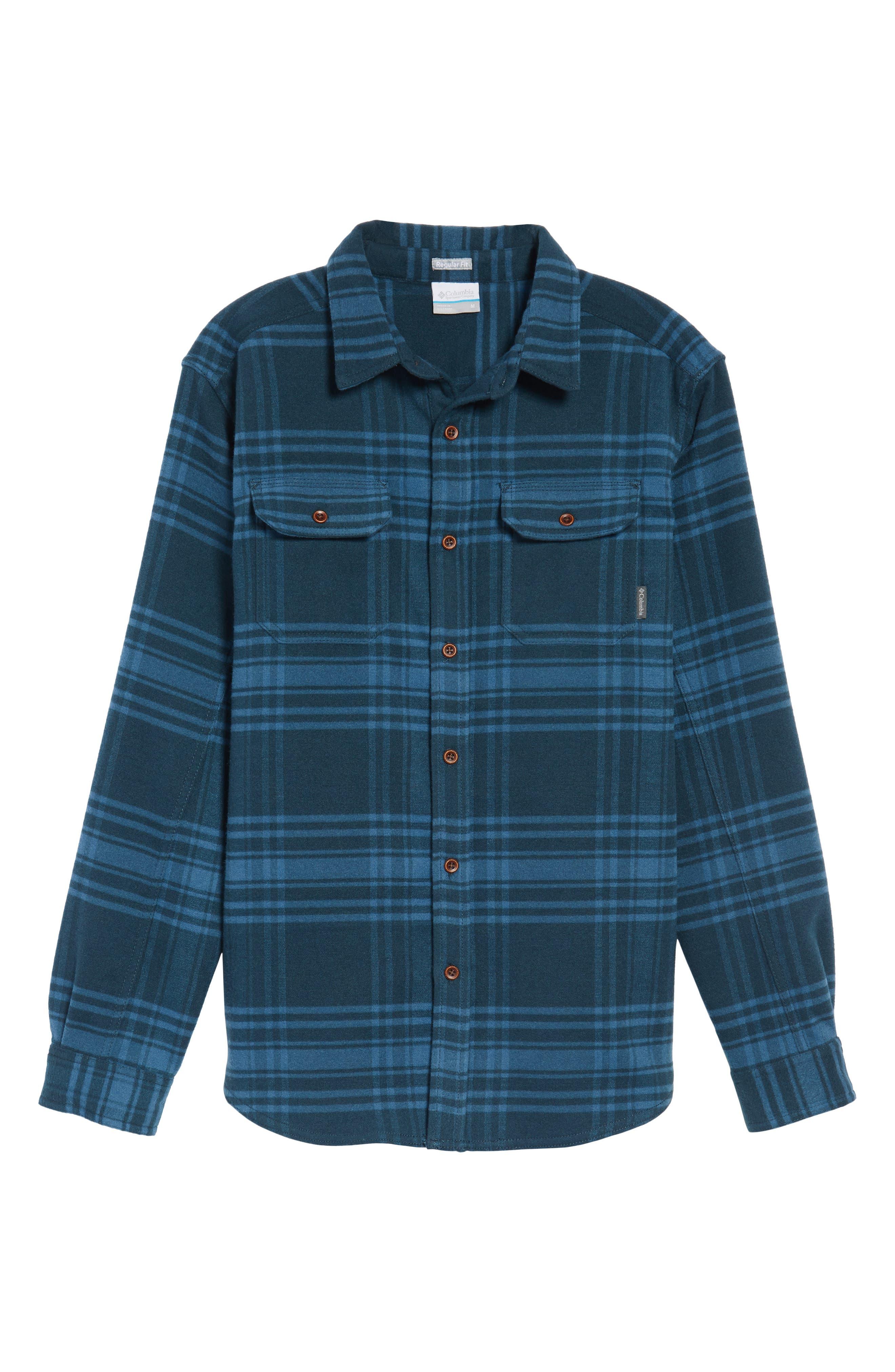 Alternate Image 6  - Columbia Deschutes River™ Heavyweight Flannel Shirt Jacket