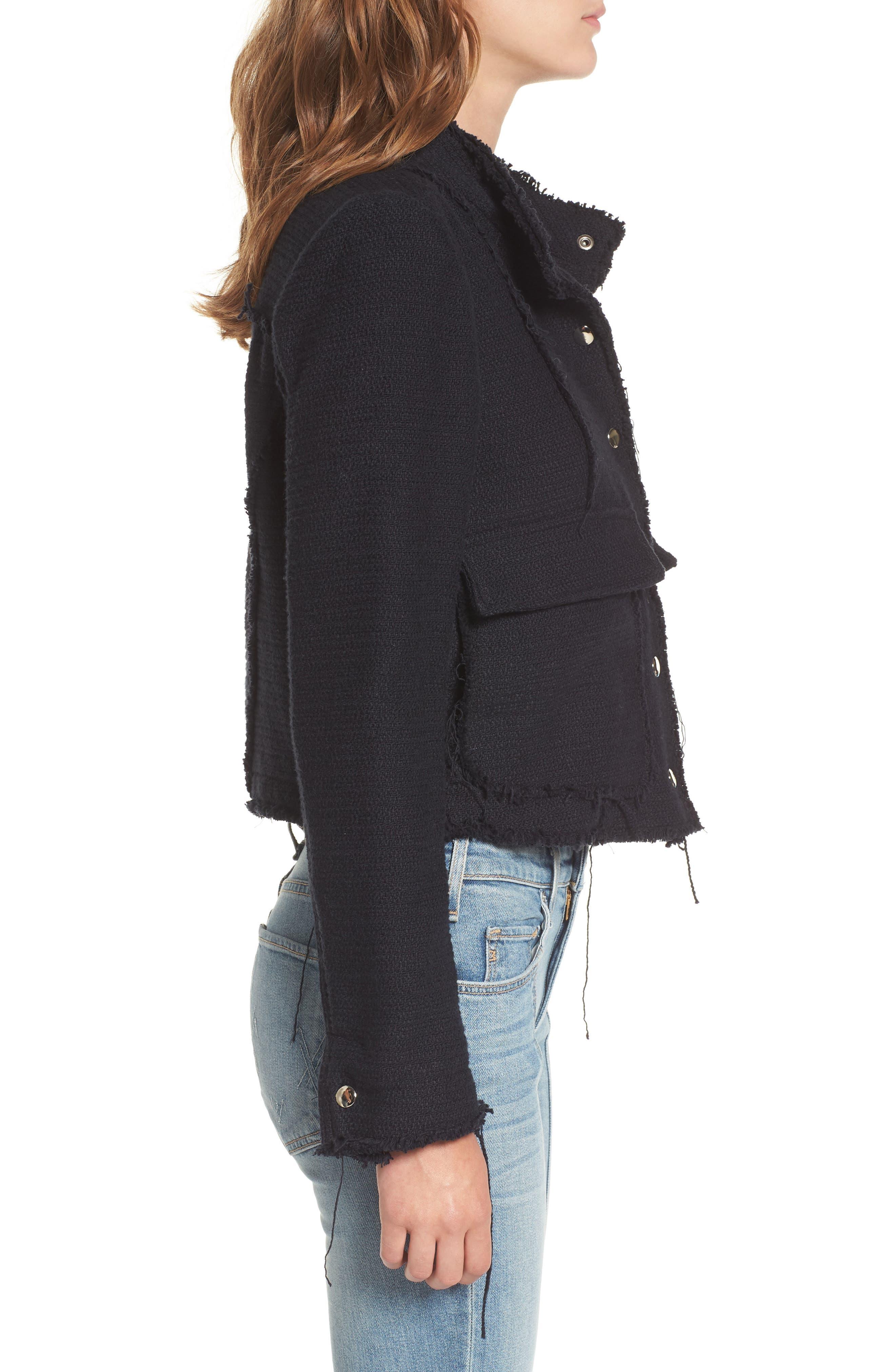 Alternate Image 3  - McGuire Bloombury Crop Cotton Jacket