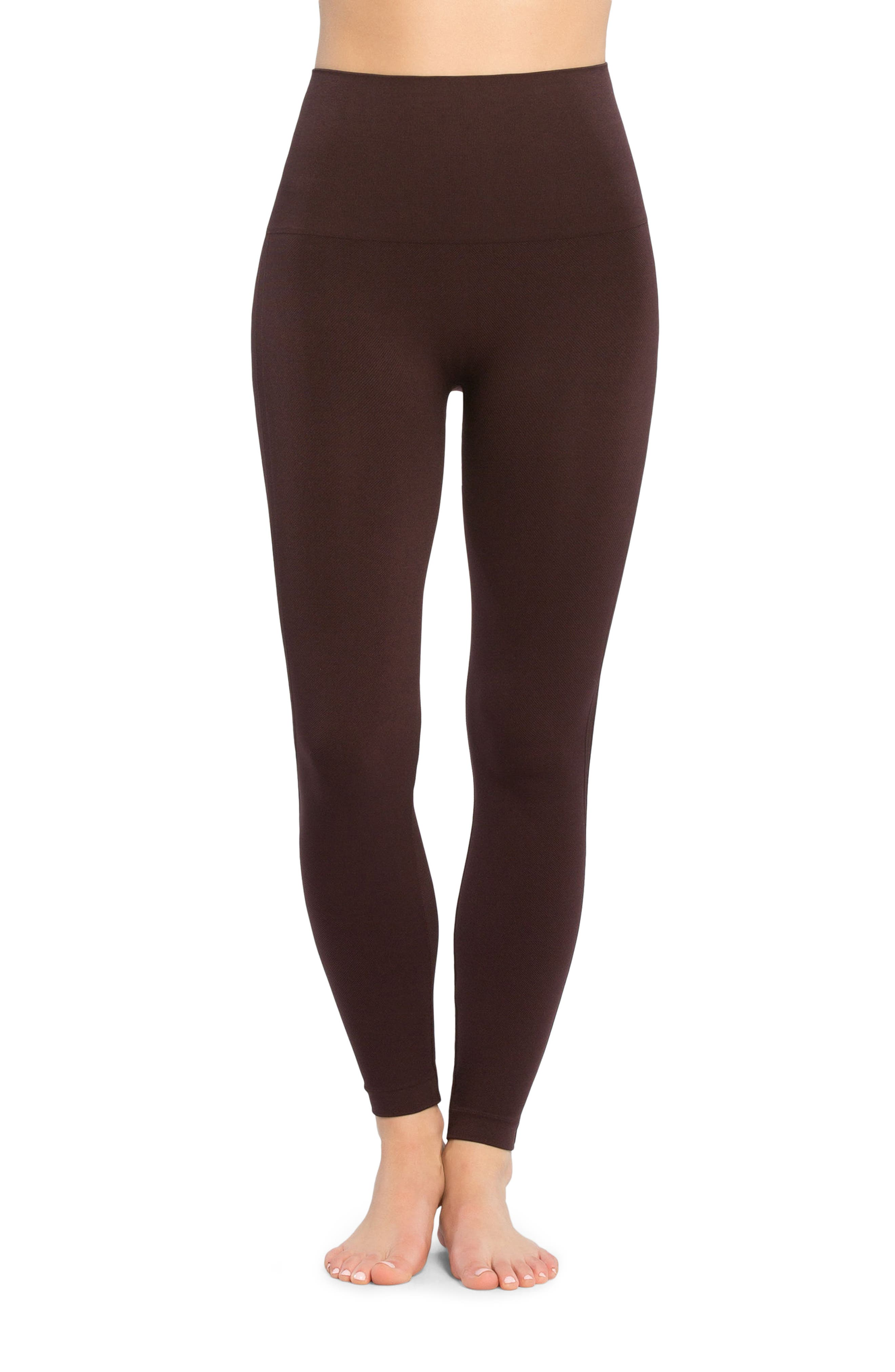 Alternate Image 1 Selected - SPANX® Look at Me Now' Seamless Leggings