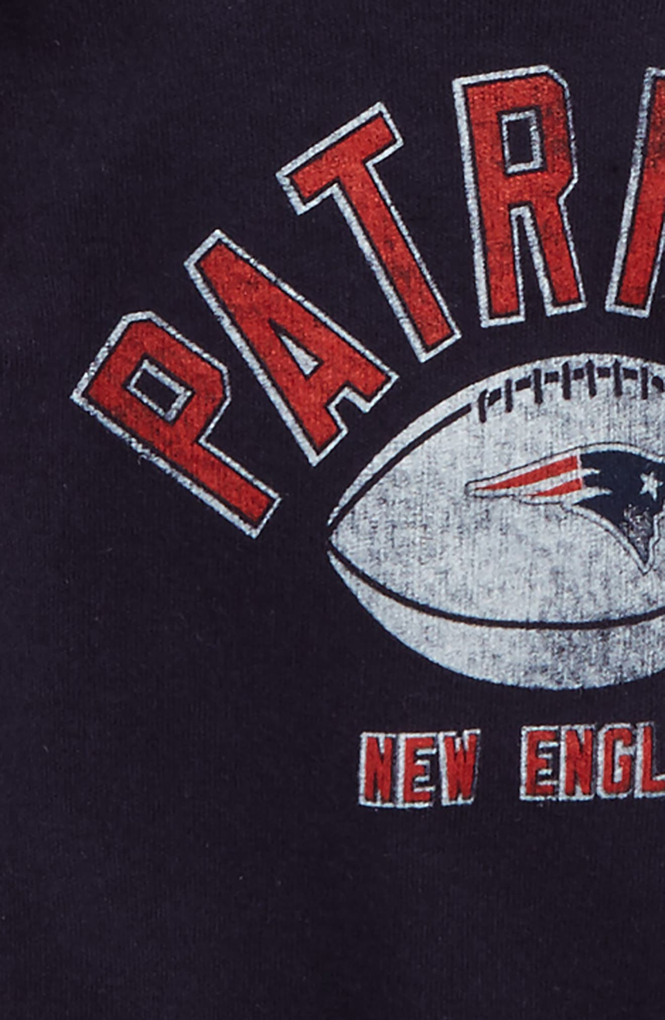 Alternate Image 2  - NFL Logo New England Patriots 2-Pack Bodysuits (Baby)