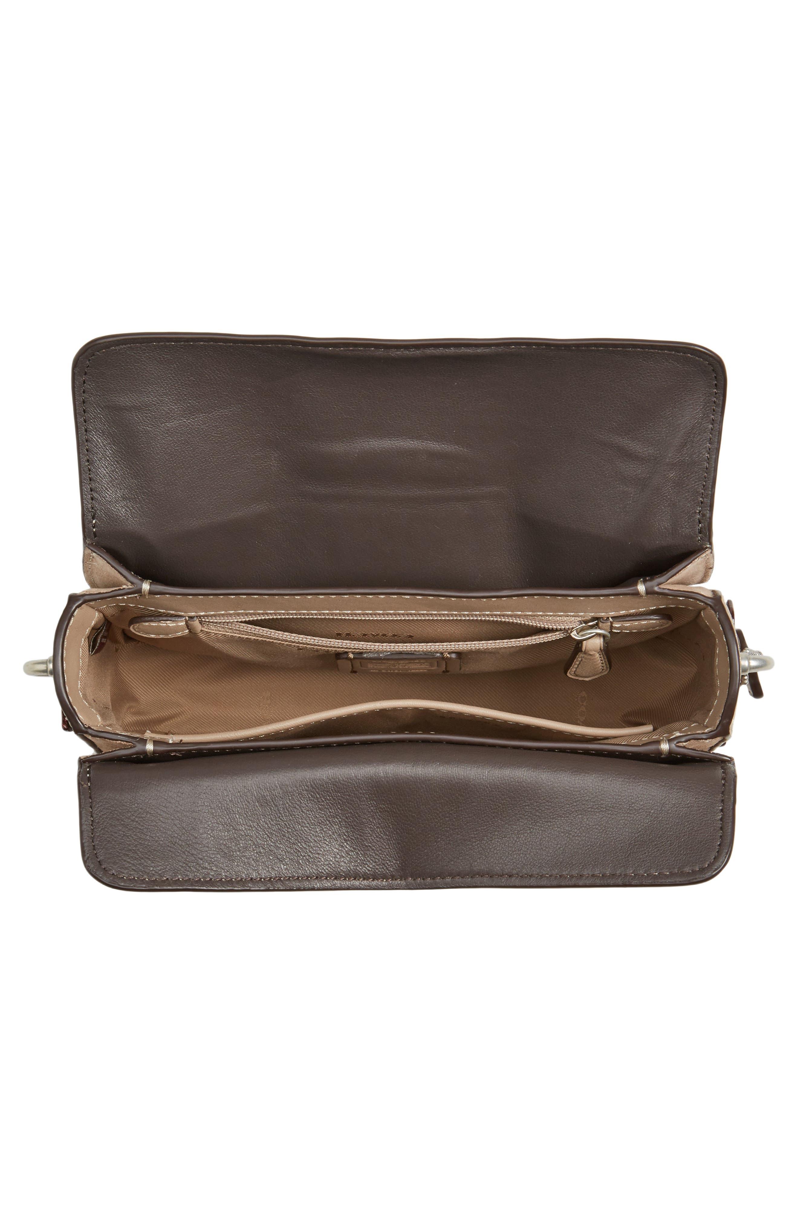 Alternate Image 3  - COACH Page Tea Rose Tooled Calfskin Leather Top Handle Satchel