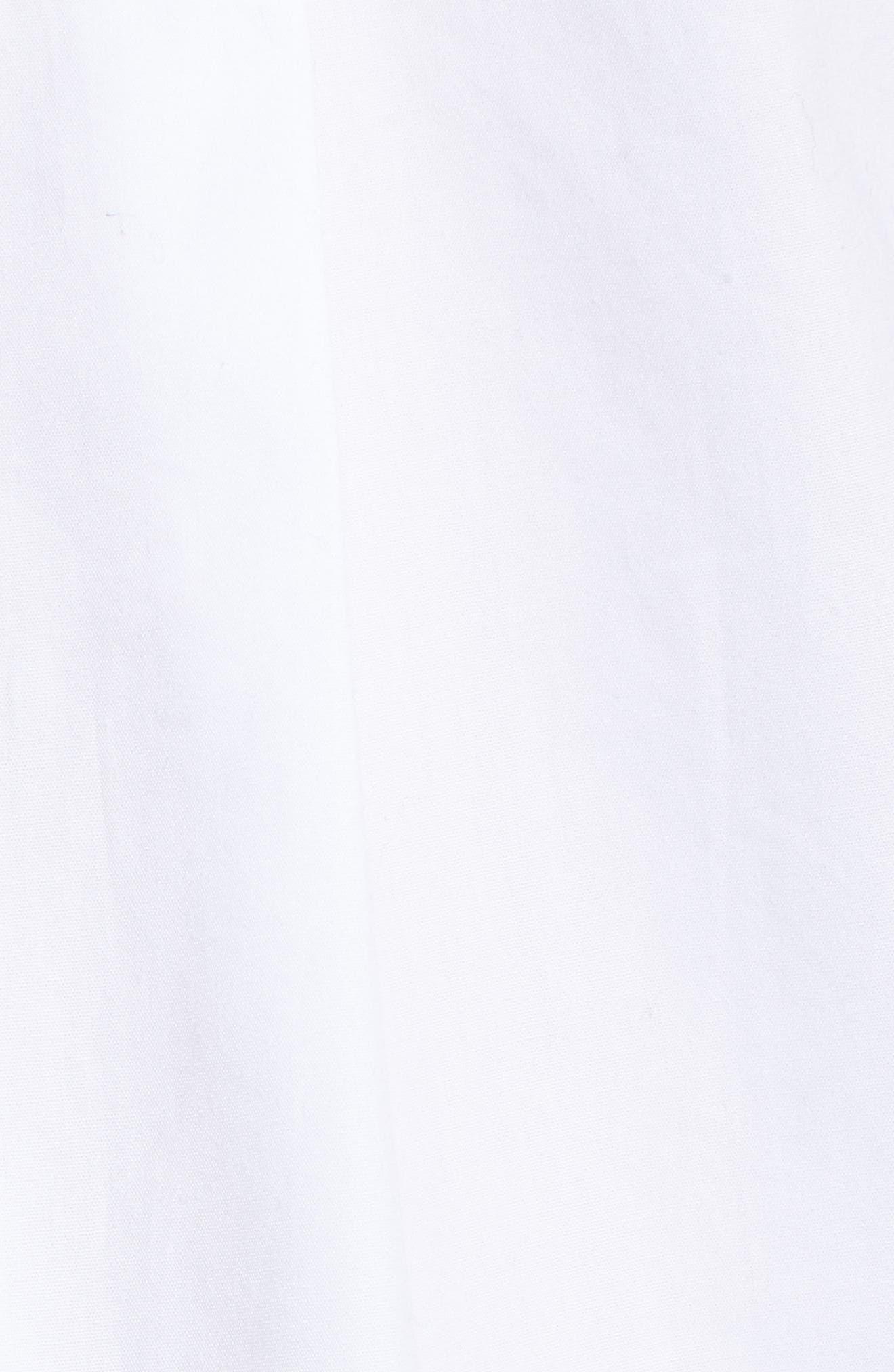 Alternate Image 5  - Caslon® Embroidered Bell Sleeve Top (Regular & Petite)